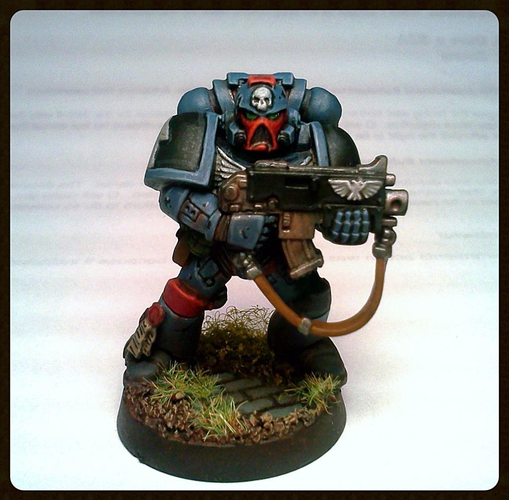 Bolter, Conversion, Do-it-yourself, Space Marines, Warhammer 40,000