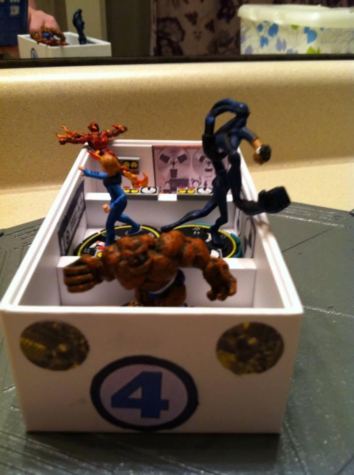 Fantastic Four, Heroclix, Superhero