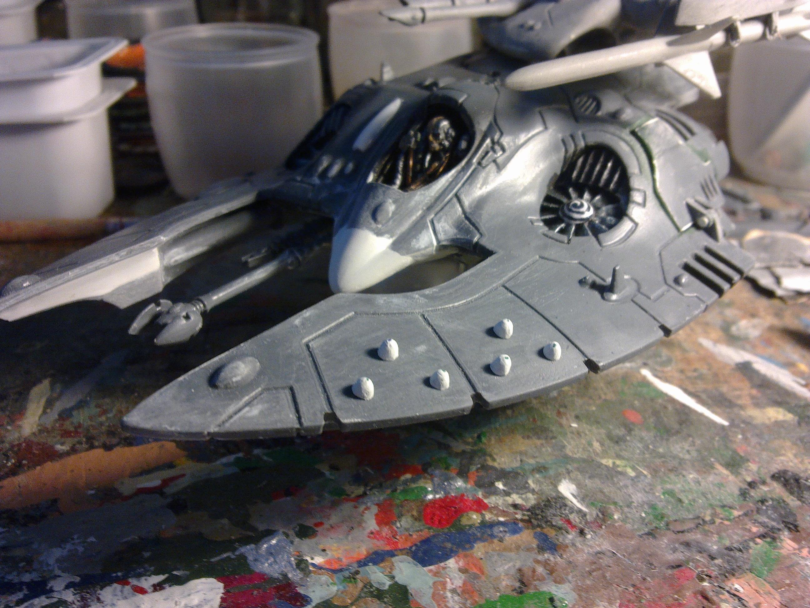 Concept, Eldar, Warhammer 40,000, Waveserpent