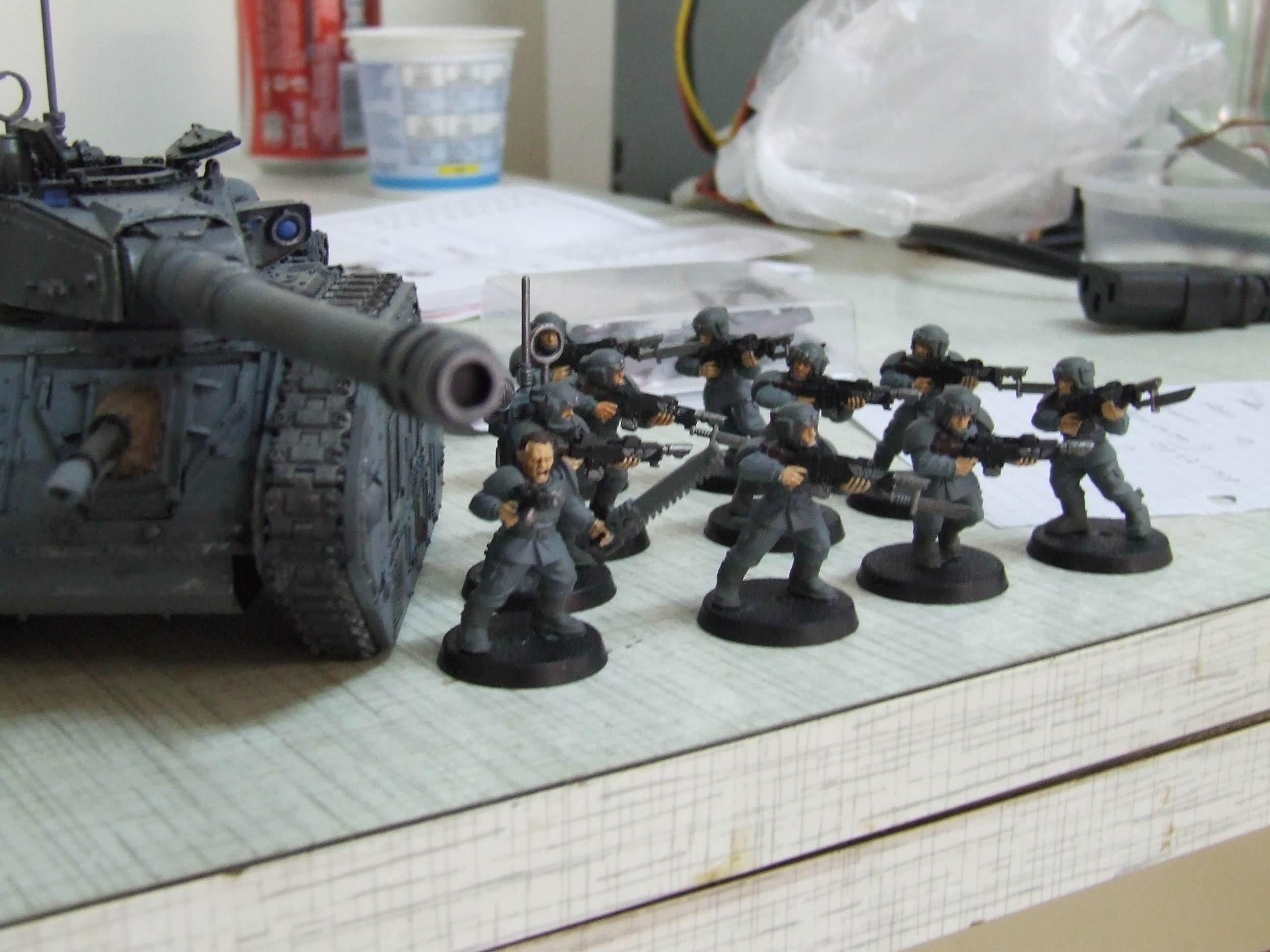 Imperial Guard, Infantry, Leman Russ