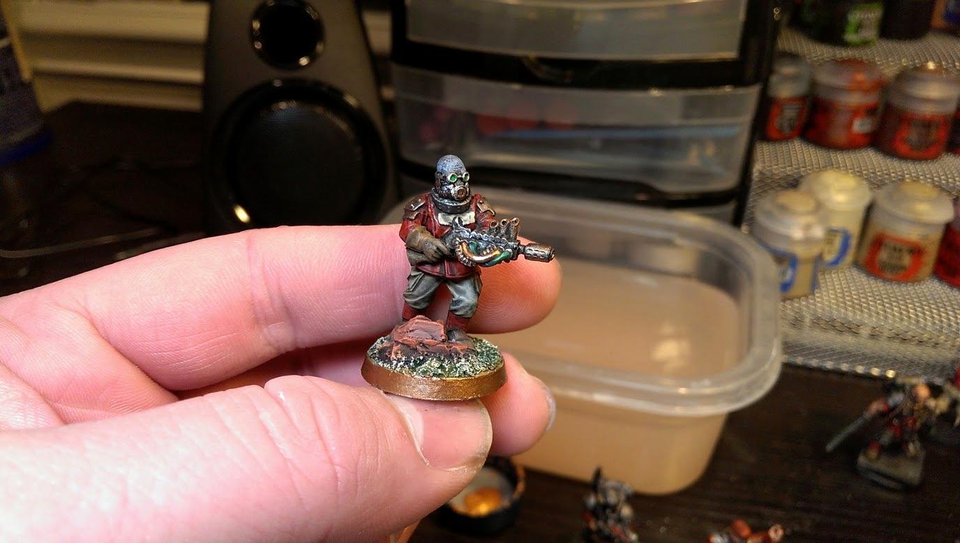 Chaos Guard, Meltagun, Renegade Guard, Victoria Miniatures