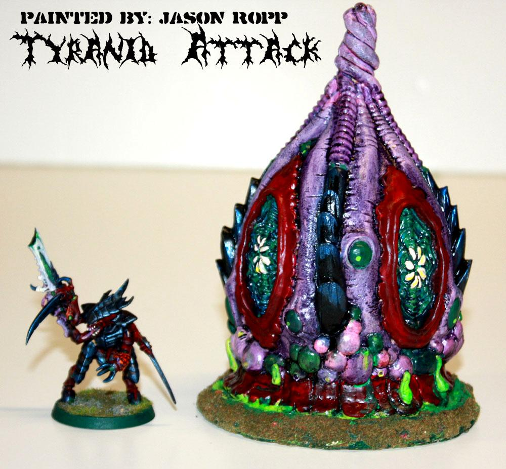 Aliens, Attack, Hive, Mycetic, Spore, Tyranids, Warhammer 40,000