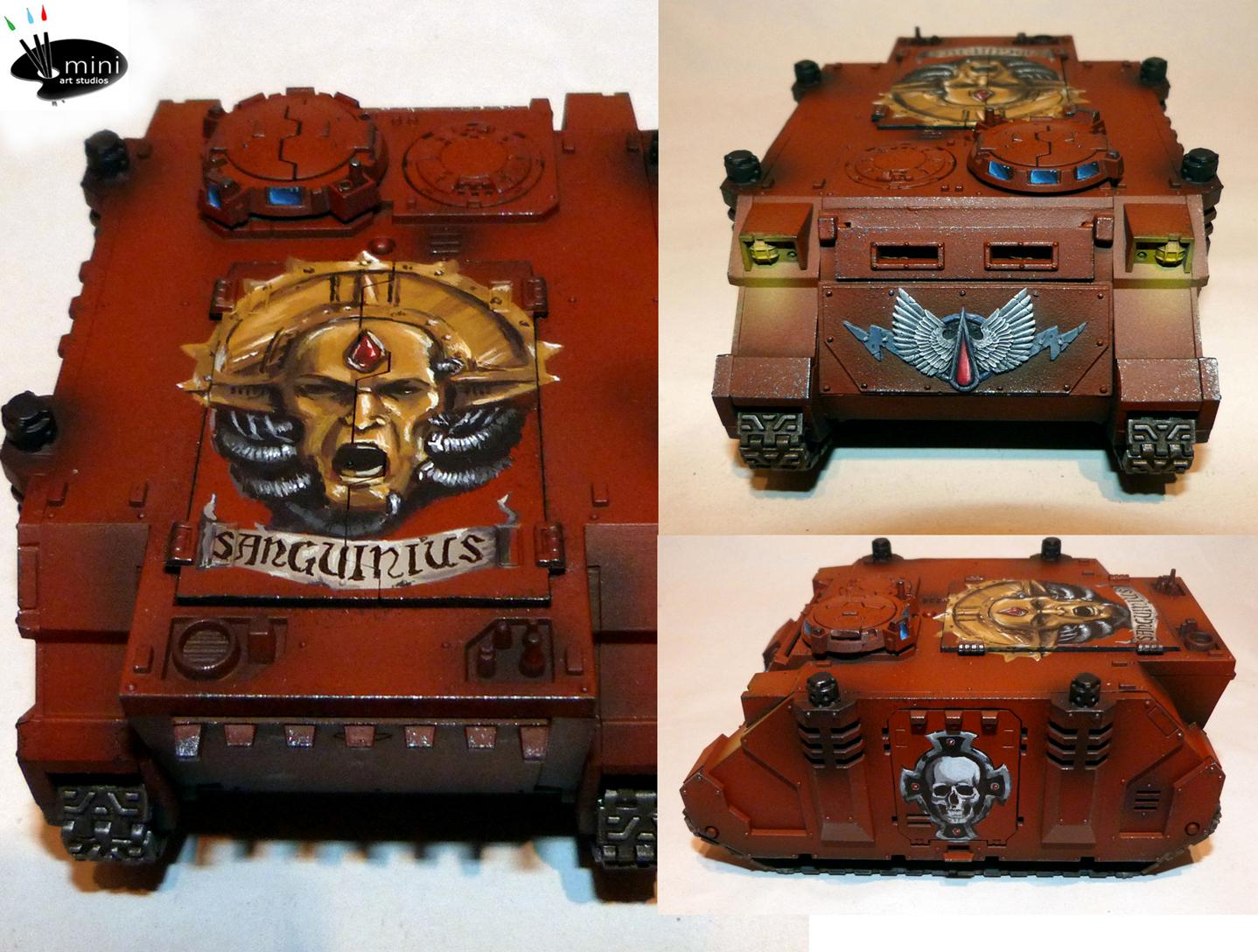 Blood Angels, Freehand, Rhino
