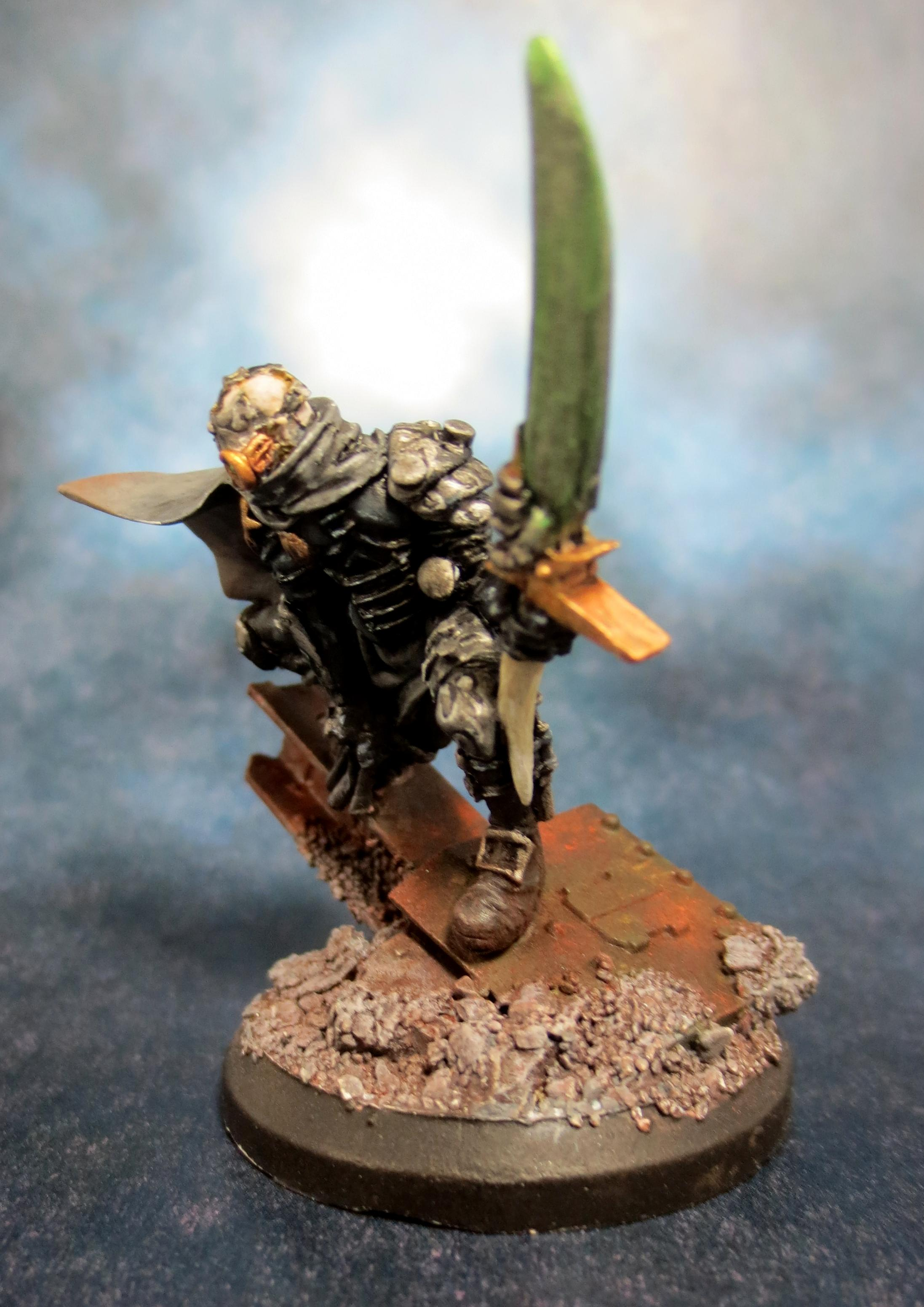 Assassin, Confrontation, Conversion, Griffin, Inquisition, Inquisitor, Warhammer 40,000, Weathered