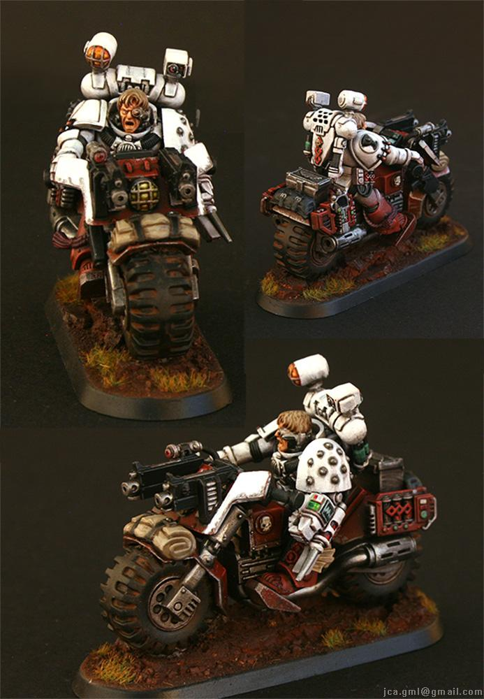 Apothecary, Blood Angels, Fast Attack, Jca, Priest, Red, Sanguinary, Weathered, White