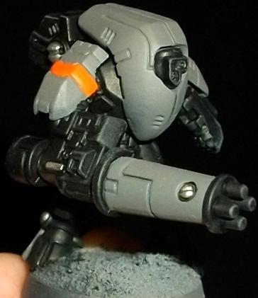 Conversion, Stealth Suit, Tau Empire, Work In Progress, Xv25