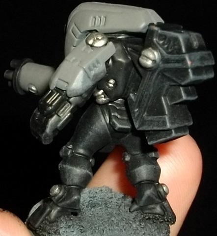 Conversion, Stealth Suit, Sv25, Tau Empire, Work In Progress