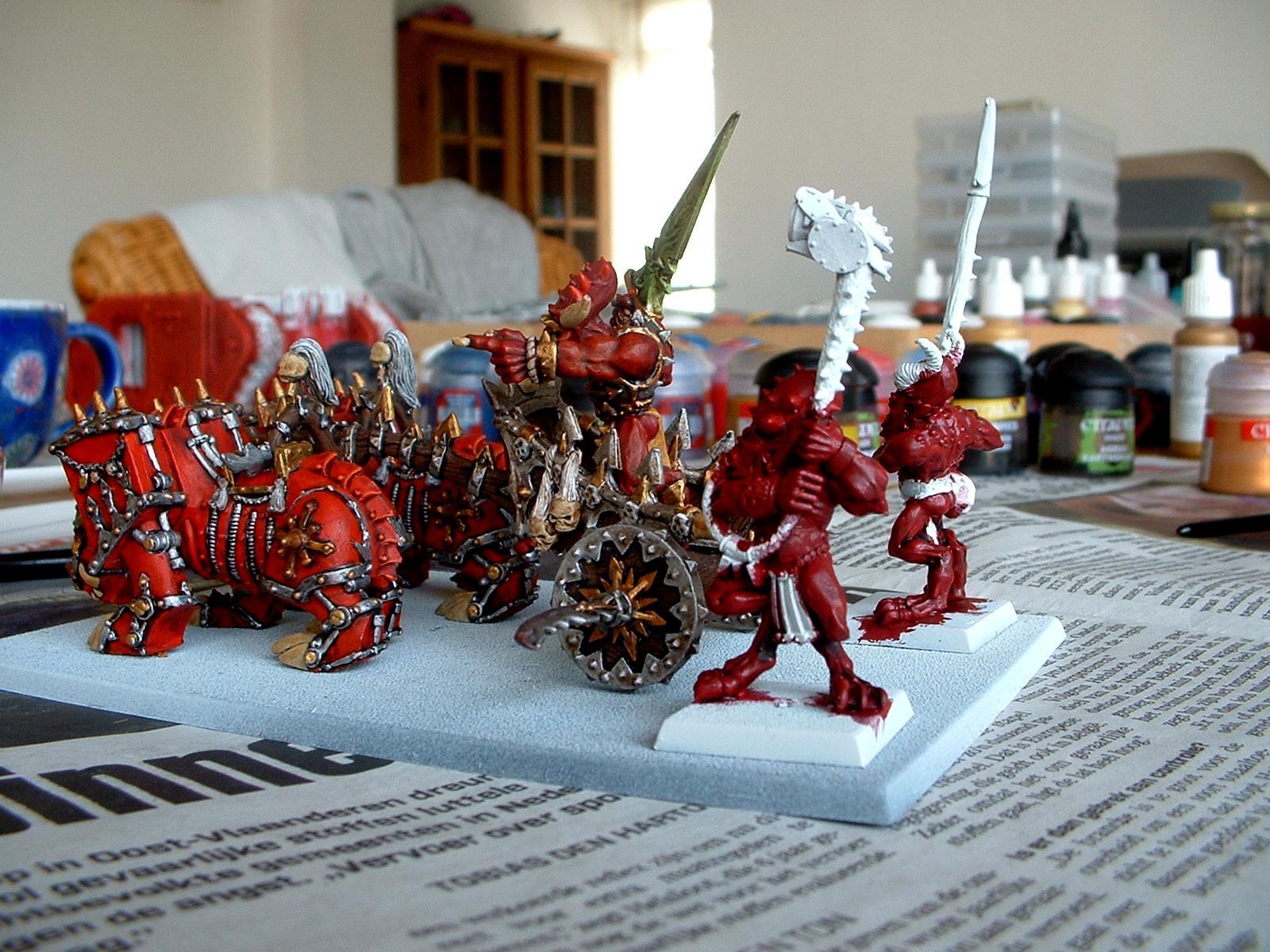 Blood Throne, Chariot, Daemons, Herald, Khorne