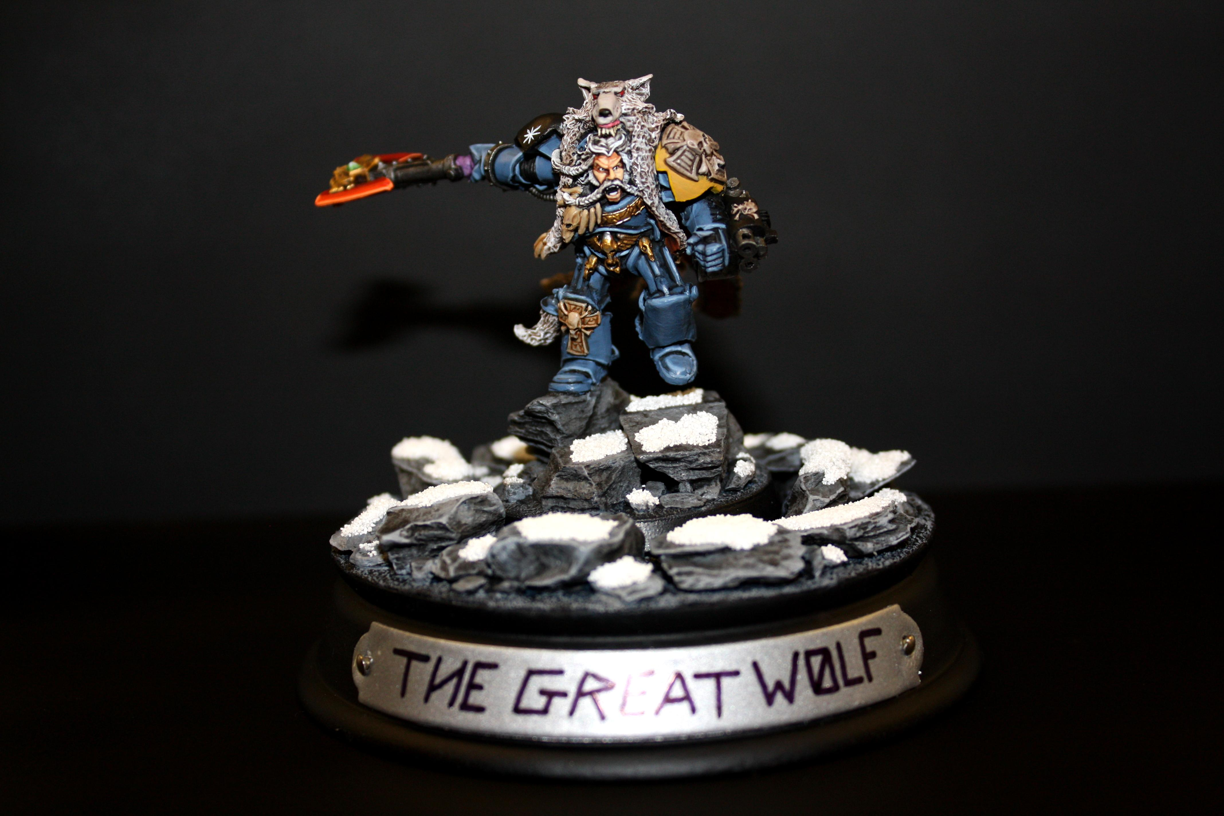 Grimnar, Logan, Space Marines, Space Wolfs, Space Wolves