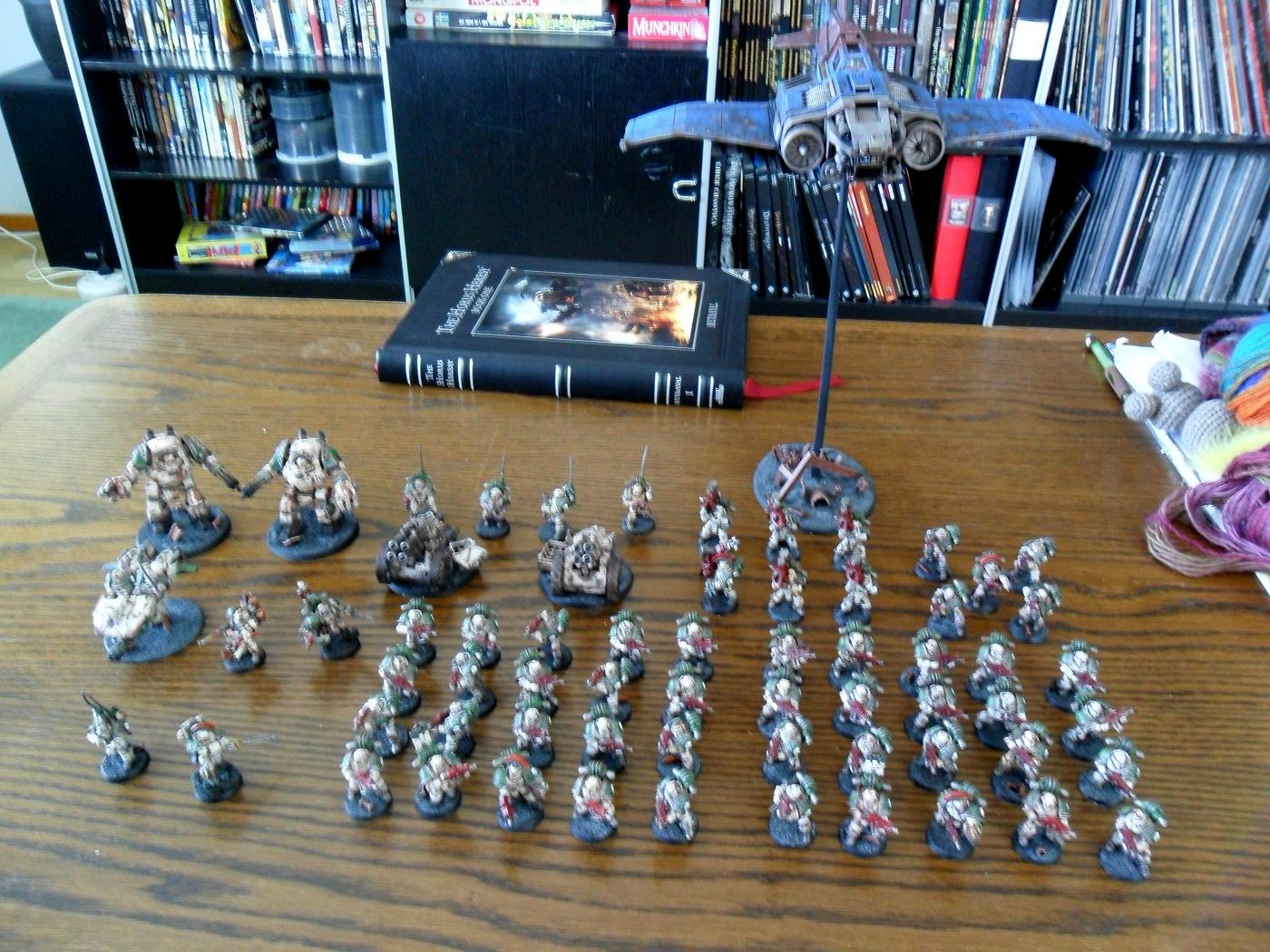 Death Guard, Pre-heresy, Space Marines