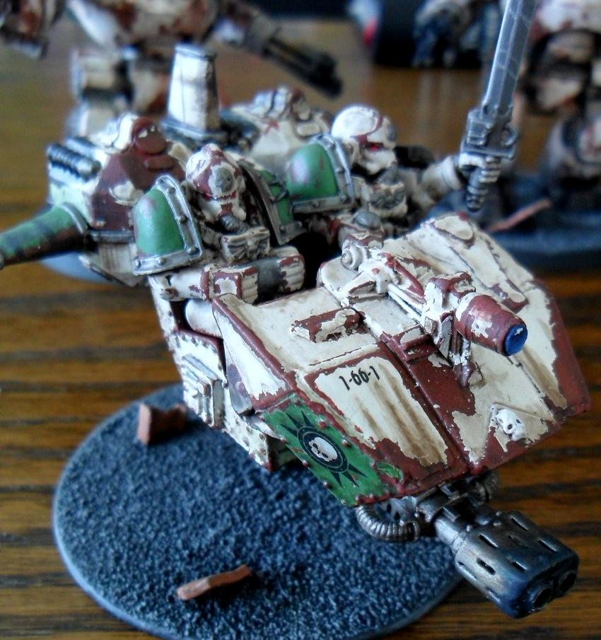 2nd Edition, Death Guard, Land Speeder, Pre-heresy, Space Marines