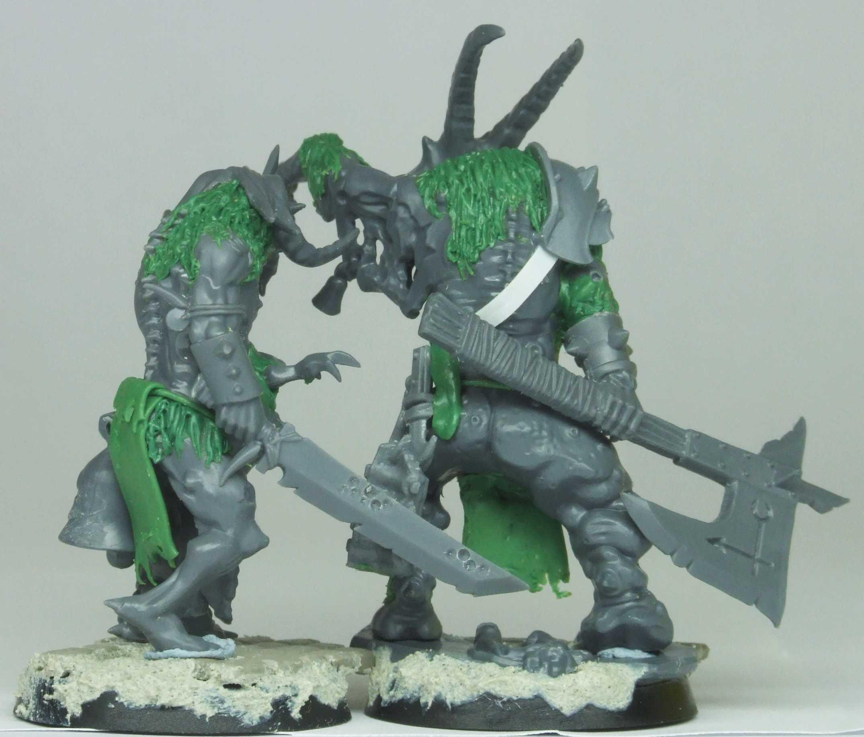 Beastmen, Chaos, Pestigor, Realm Of Chaos, Warhammer Fantasy