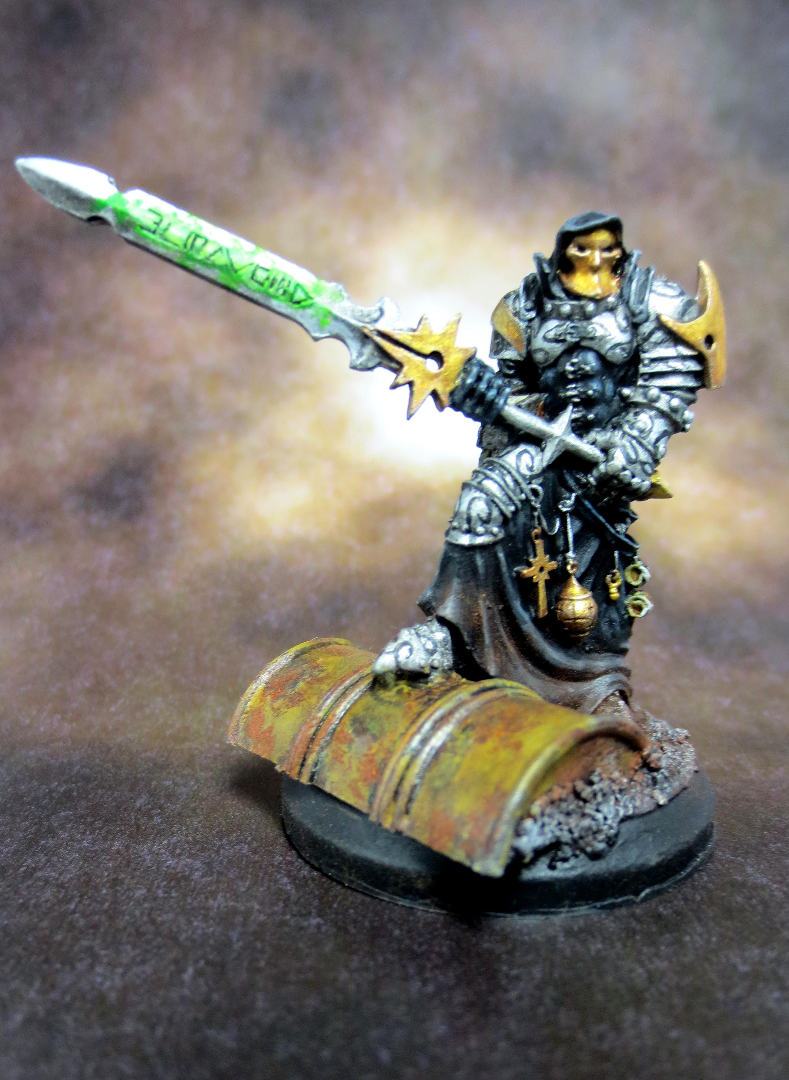 Assassin, Confrontation, Griffin, Inquisition, Inquisitor, Warhammer 400000, Weathered