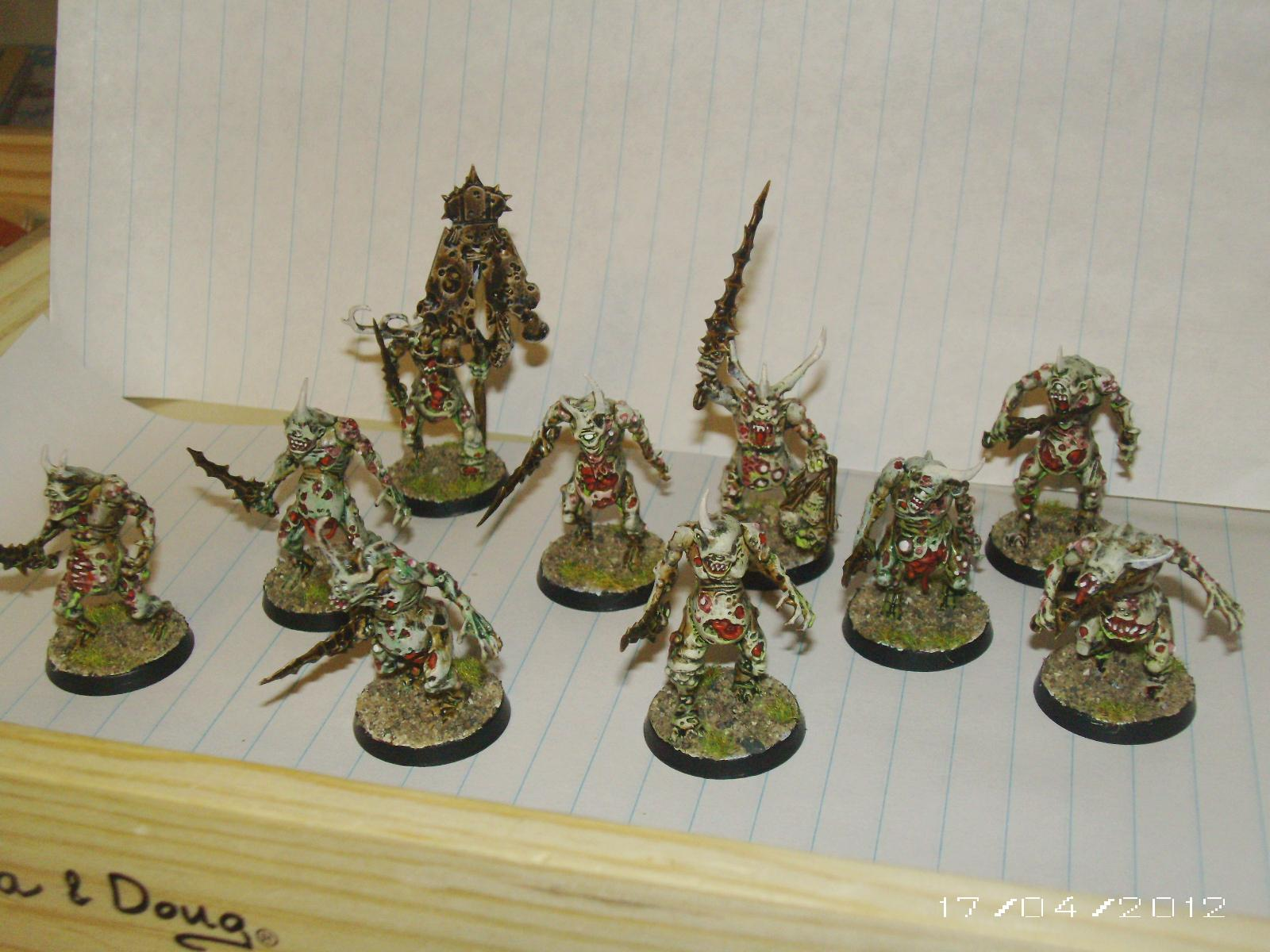 My Plaguebearers!