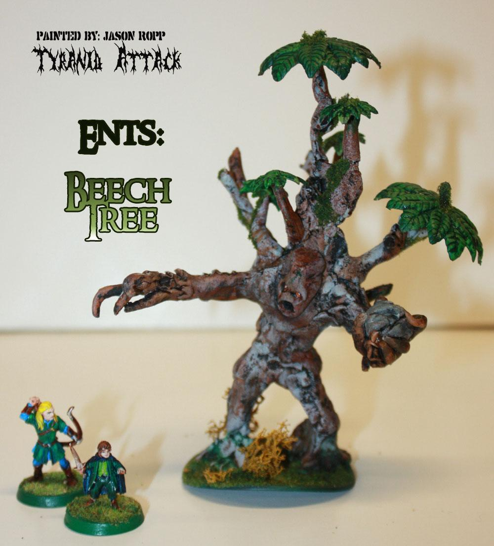 28mm, Beech, Conversion, Custoim, Ent, Ents, Forces, Good, Hobbit, Lord, Miniature, Of, Rings, The, Treebeard