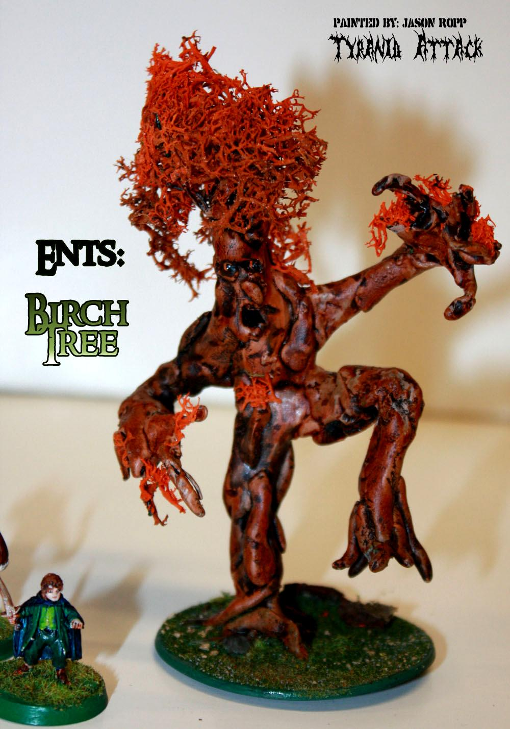 28mm, Birch, Conversion, Custoim, Ent, Ents, Forces, Good, Hobbit, Lord, Miniature, Of, Rings, The, Treebeard