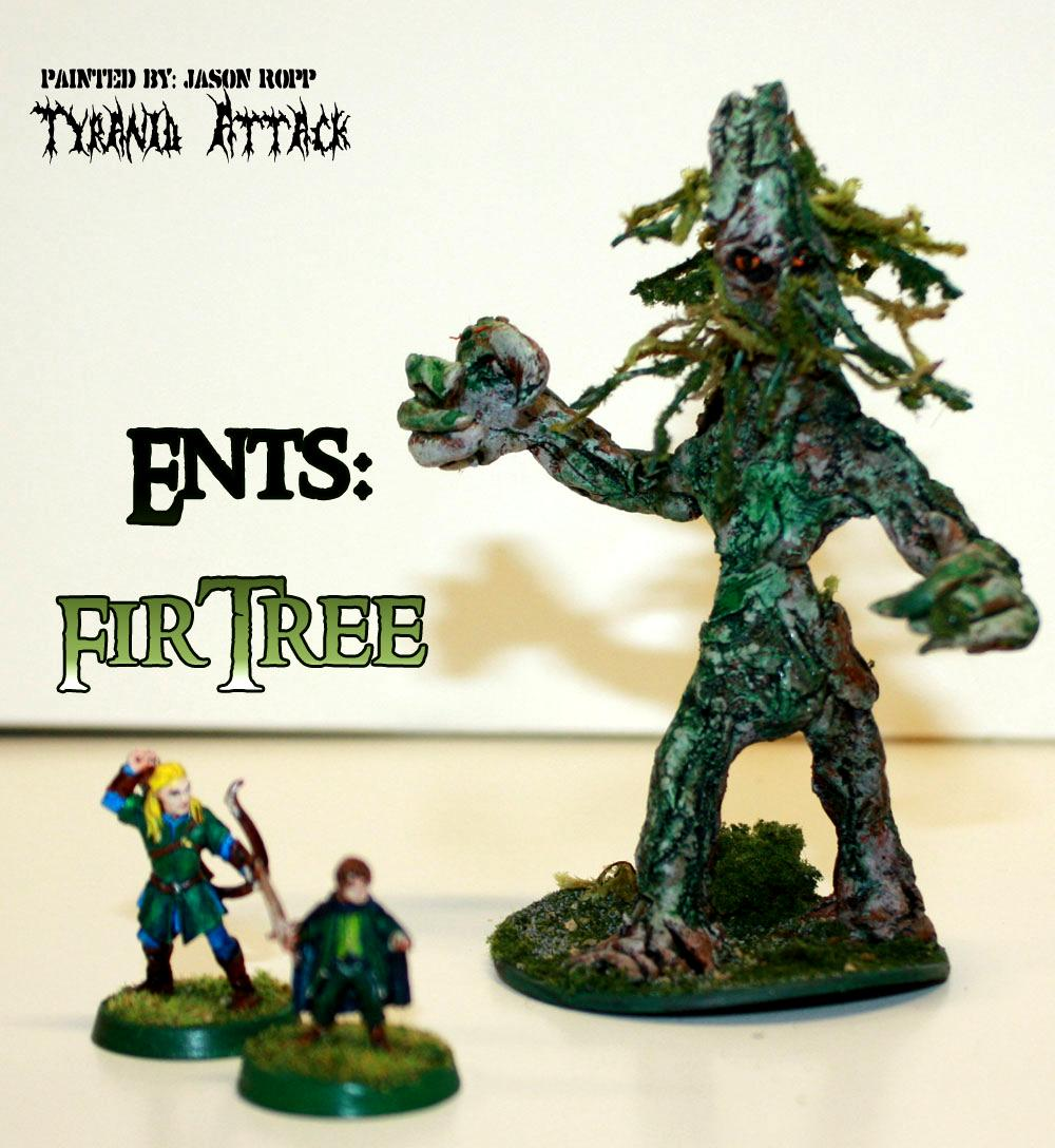 28mm, Conversion, Custoim, Ent, Ents, Fir, Forces, Good, Hobbit, Lord, Miniature, Of, Rings, The, Treebeard