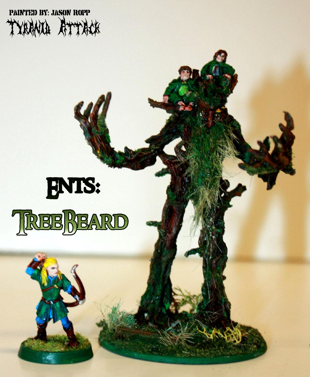 28mm, Conversion, Custoim, Ent, Ents, Forces, Good, Hobbit, Lord, Miniature, Of, Rings, The, Treebeard