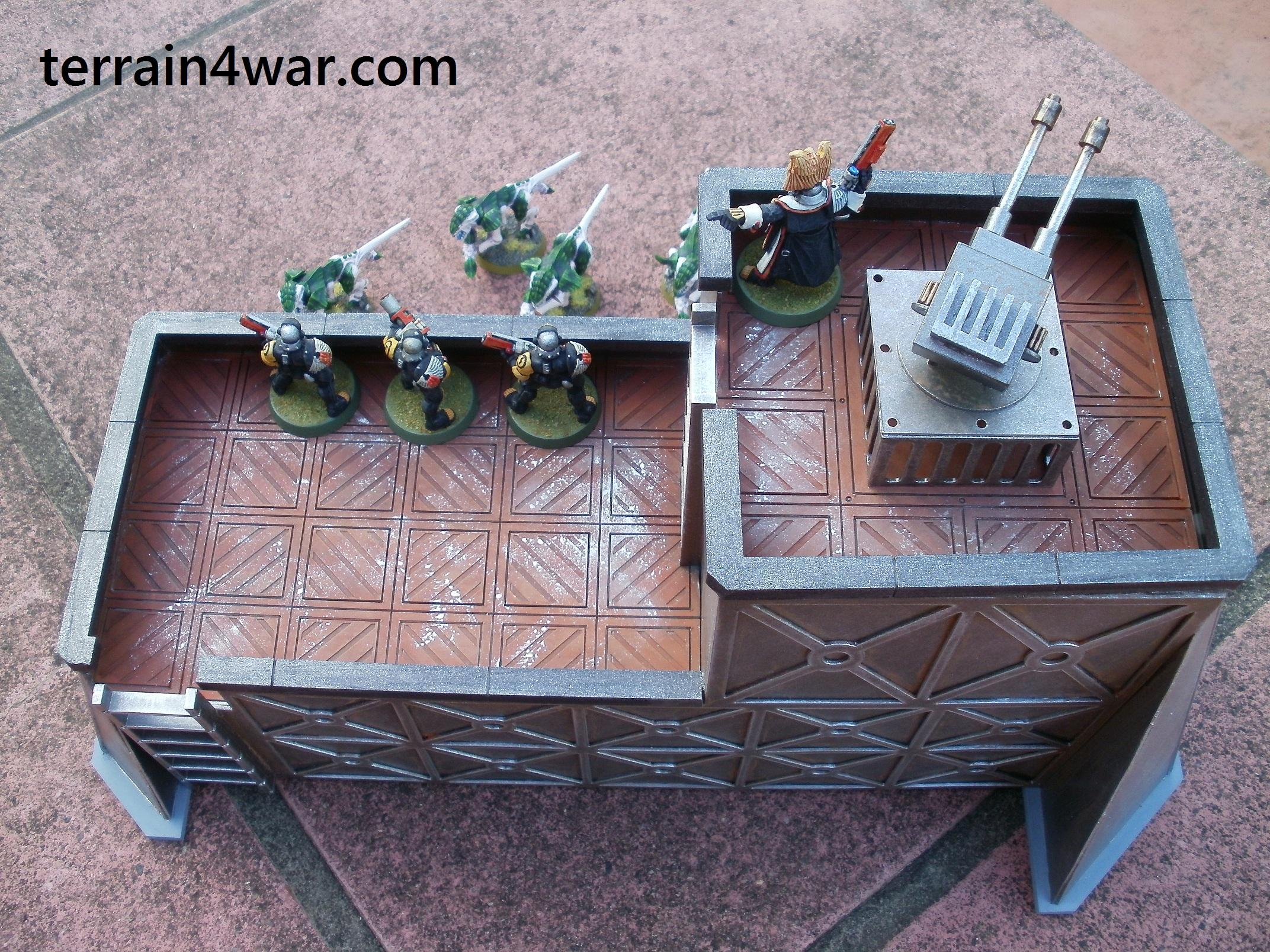 Buildings, Bunker, City, Stronghold, Terrain, Terrain4war, Warhammer 40,000