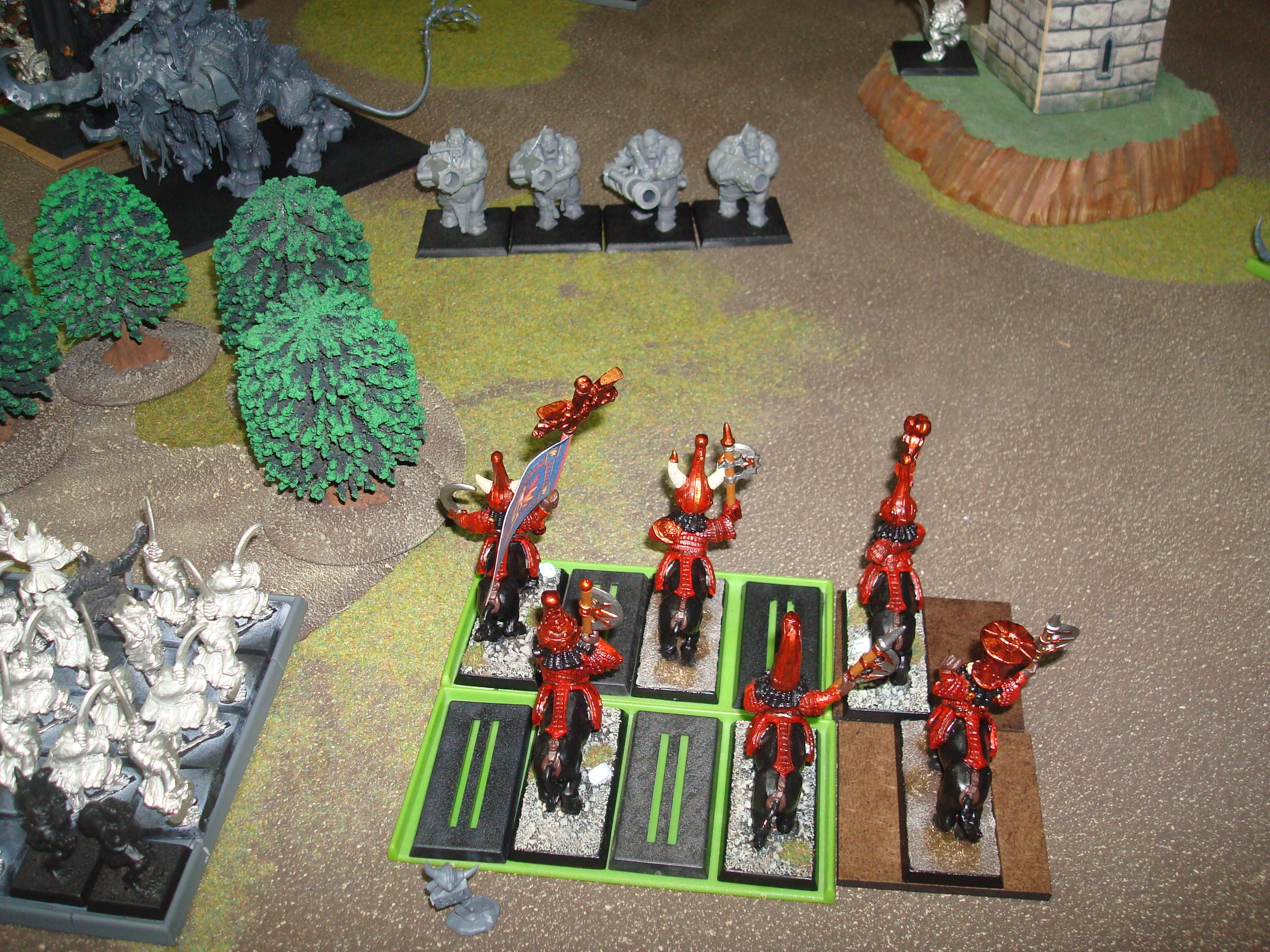 Chaos Dwarfs, Ogres, 50