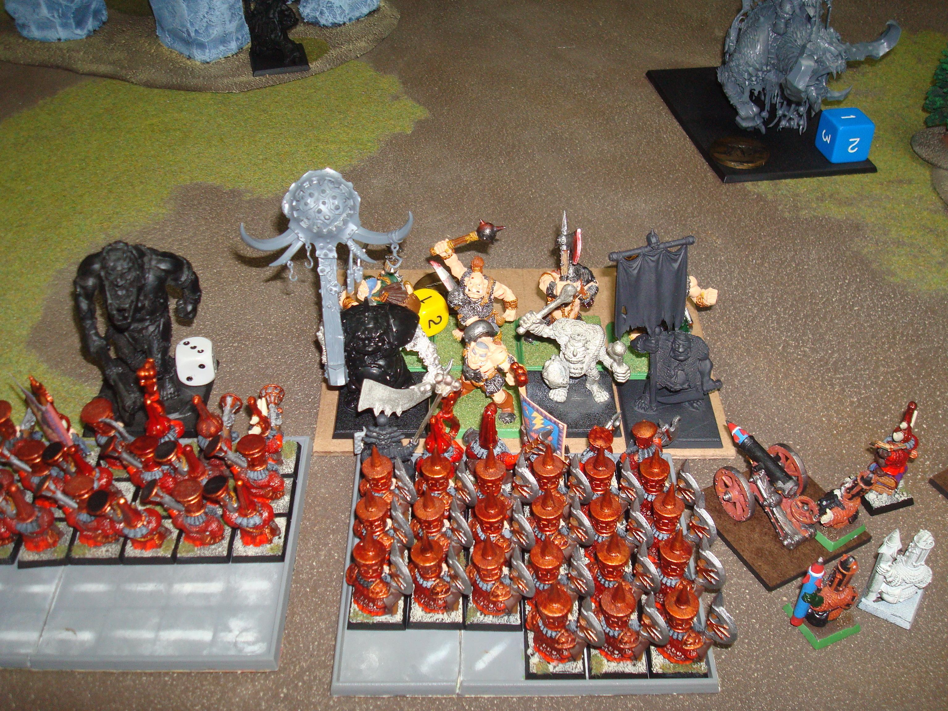 Chaos Dwarfs, Ogres, 70
