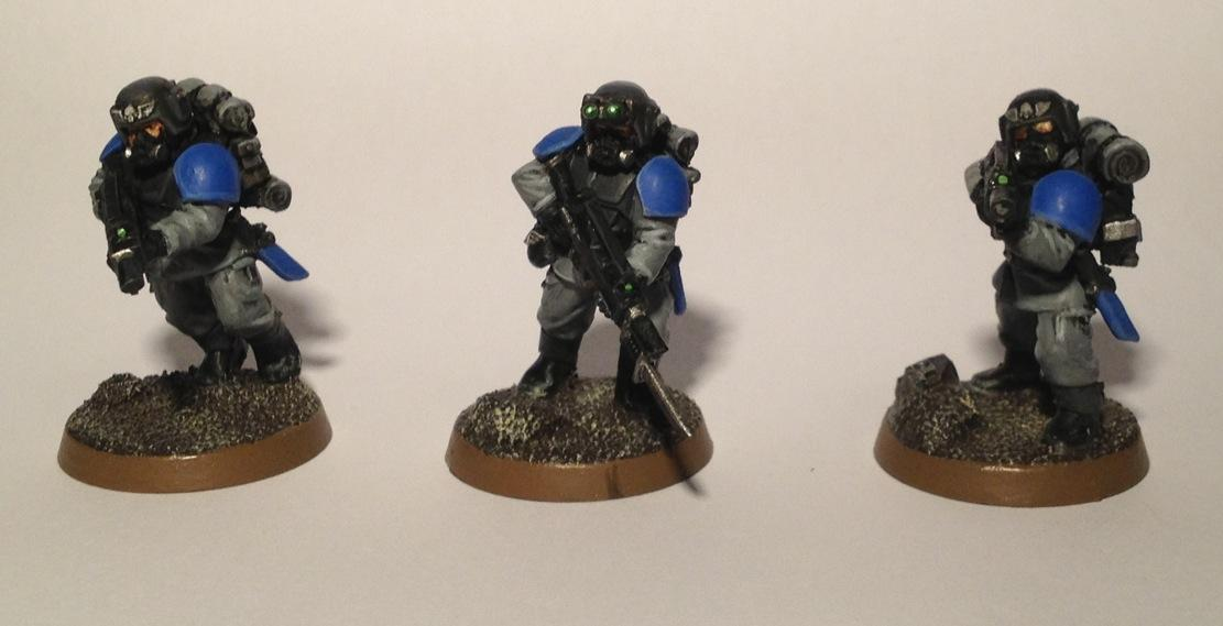 Backpack, Conversion, Gasmasks, Guard, Imperial Guard, Infantry, Lasgun, Platoon, Rucksack, Squad, Warhammer 40,000