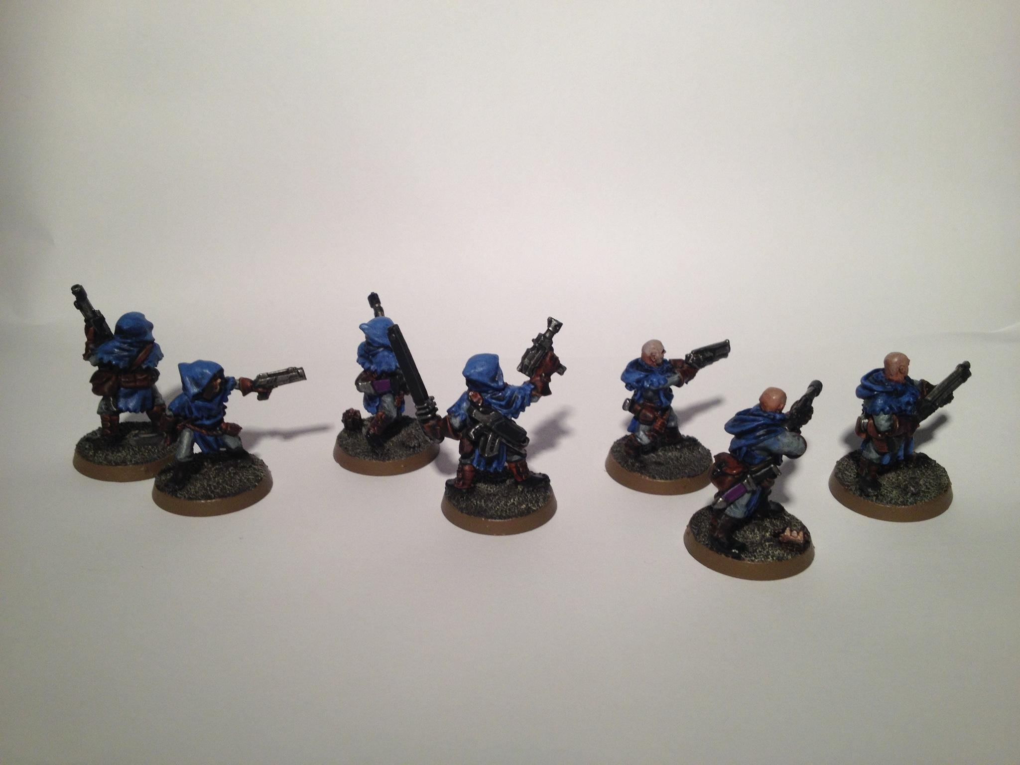 Cawdor, Conversion, Gang, Guard, House Cawdor, Imperial Guard, Infantry, Necromunda, Platoon, Squad, Warhammer 40,000