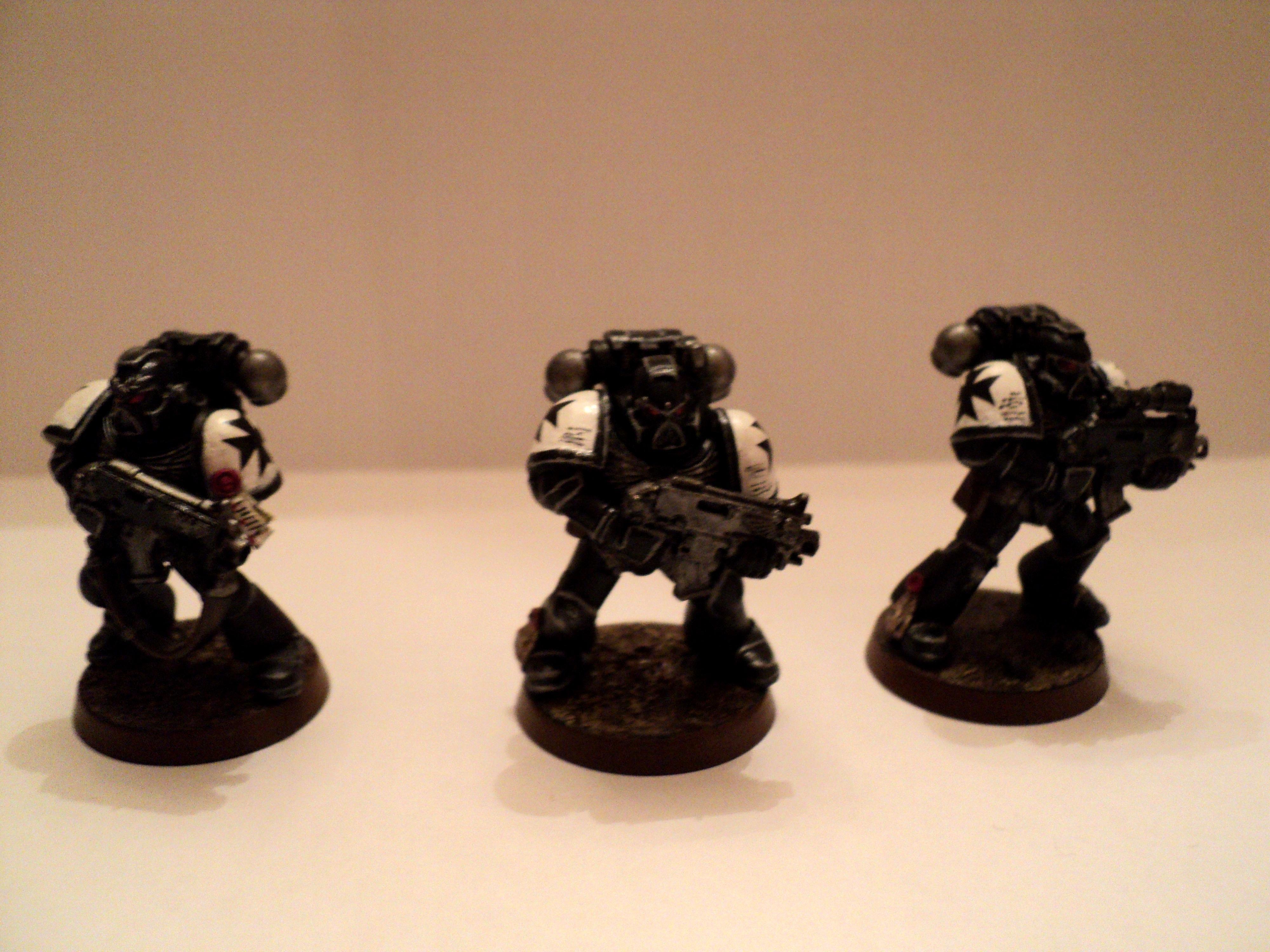 Black Templars, Necrons, Space Marines