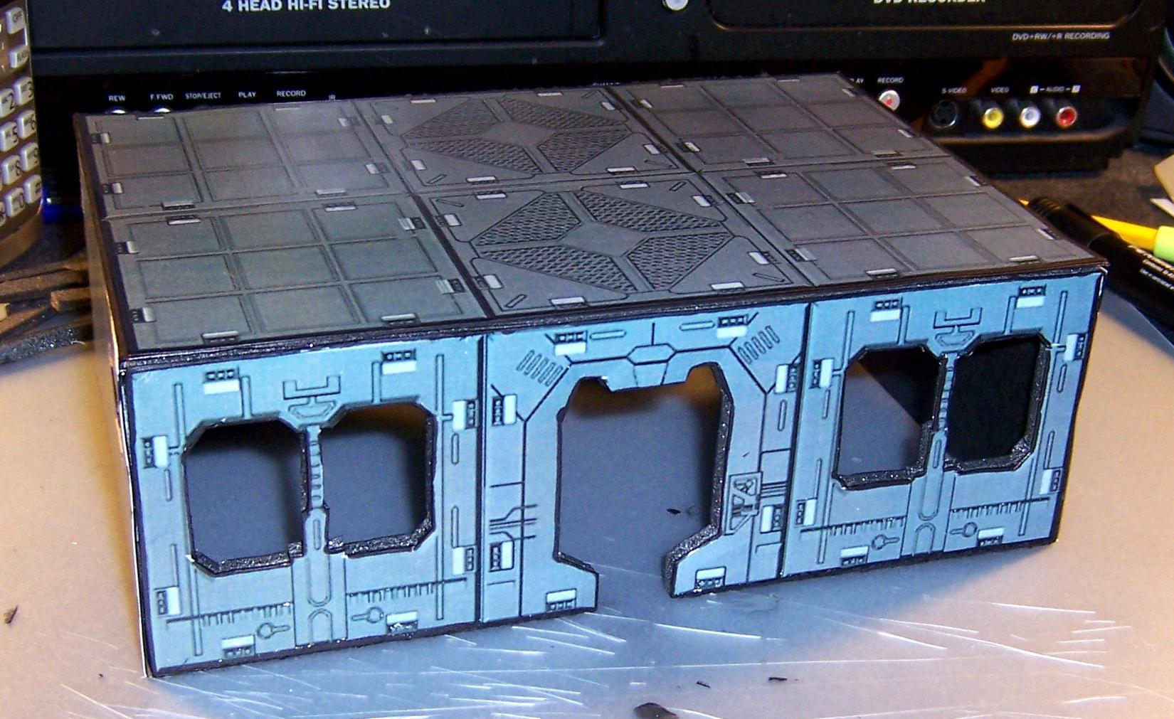 Buildings, Deadzone, Sci Fi, Terrain