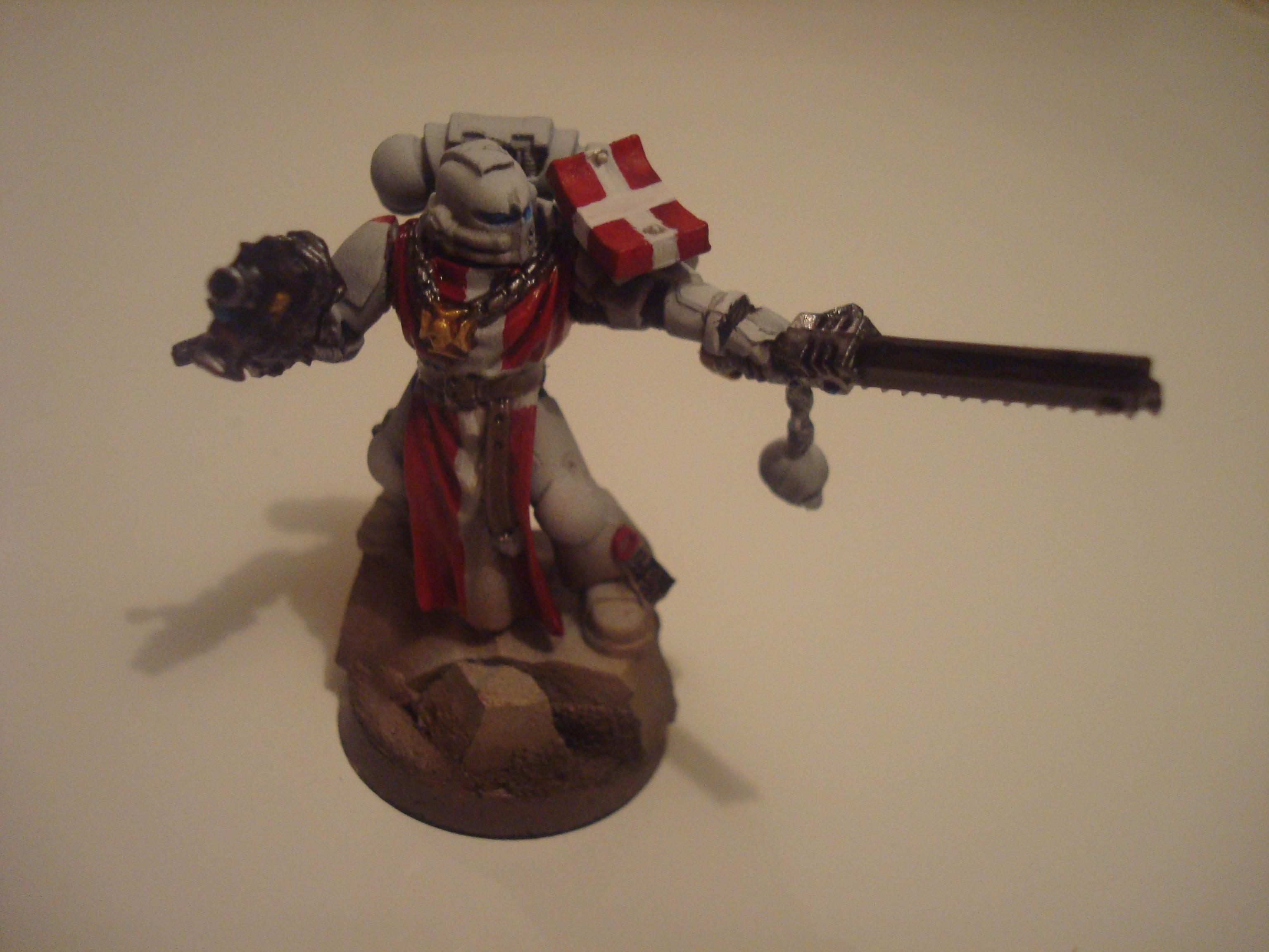 Airbrush, Base, Black Templars, Initiate, Knight Templar, Space Marines