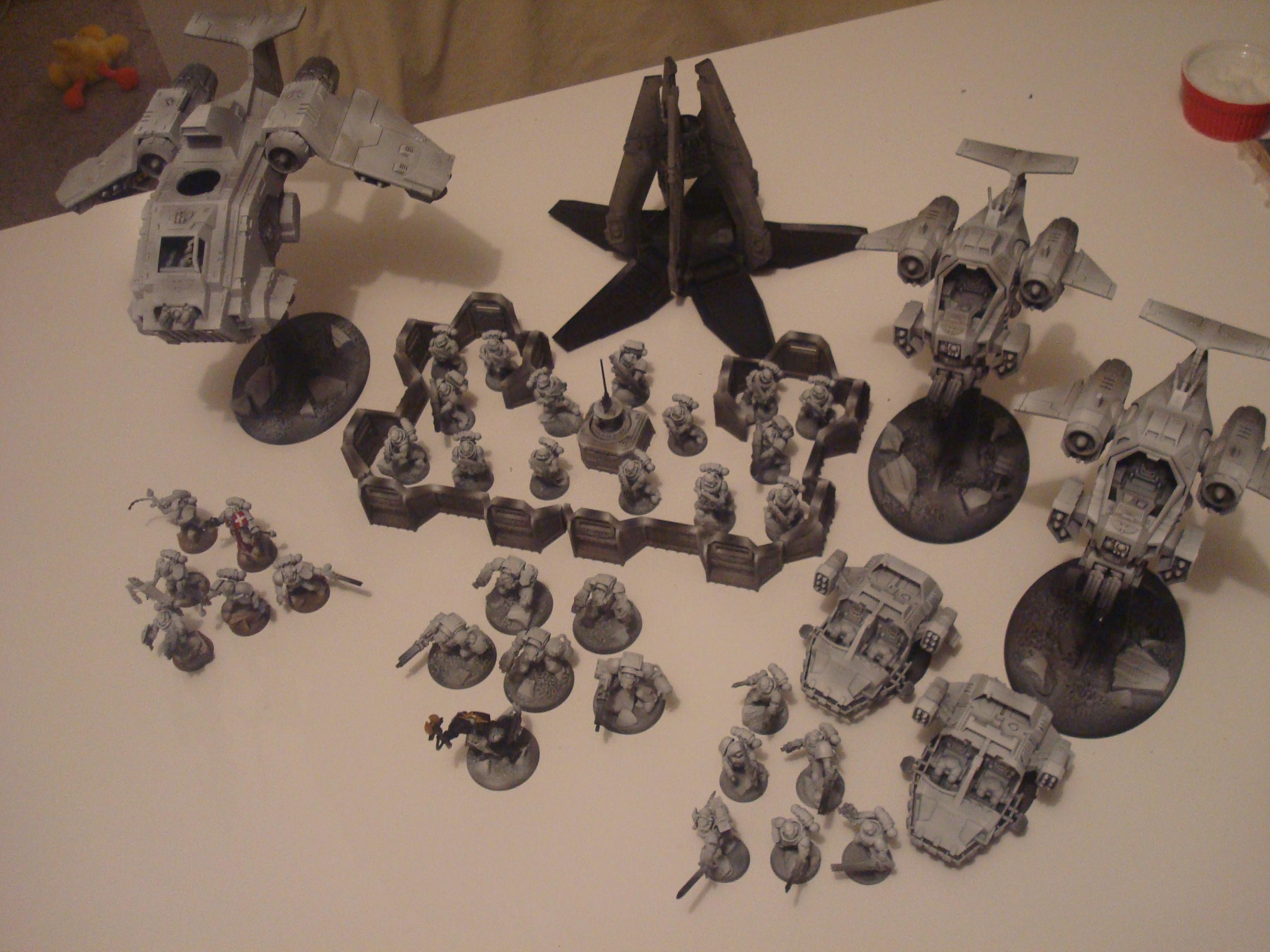 Airbrush, Airbrushed, Black Templars, Space Marines