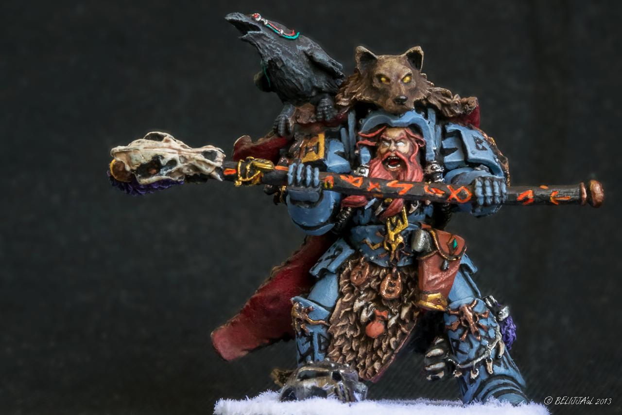 Njal, Njal Stormcaller, Space Marines, Space Wolves, Warhammer 40,000