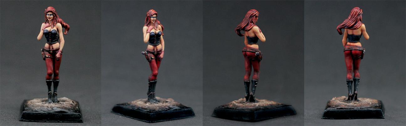 Allison, Civilian, Commission, Damsels Of Darkmyre, Female, Girl, Woman