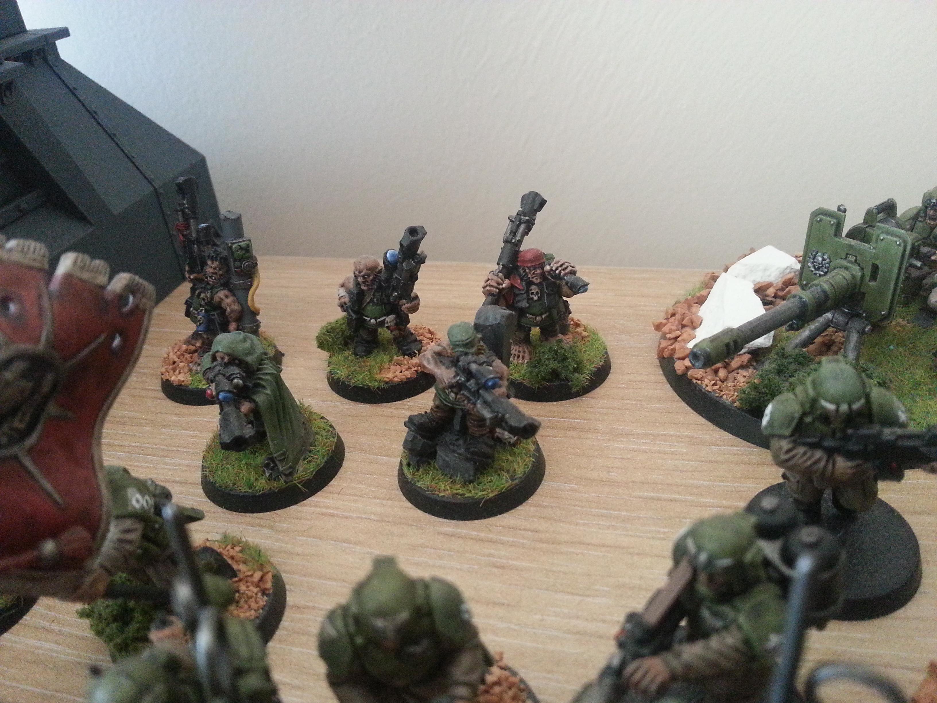 Astra Militarum, Cadians, Imperial Guard, Ratling, Snipers