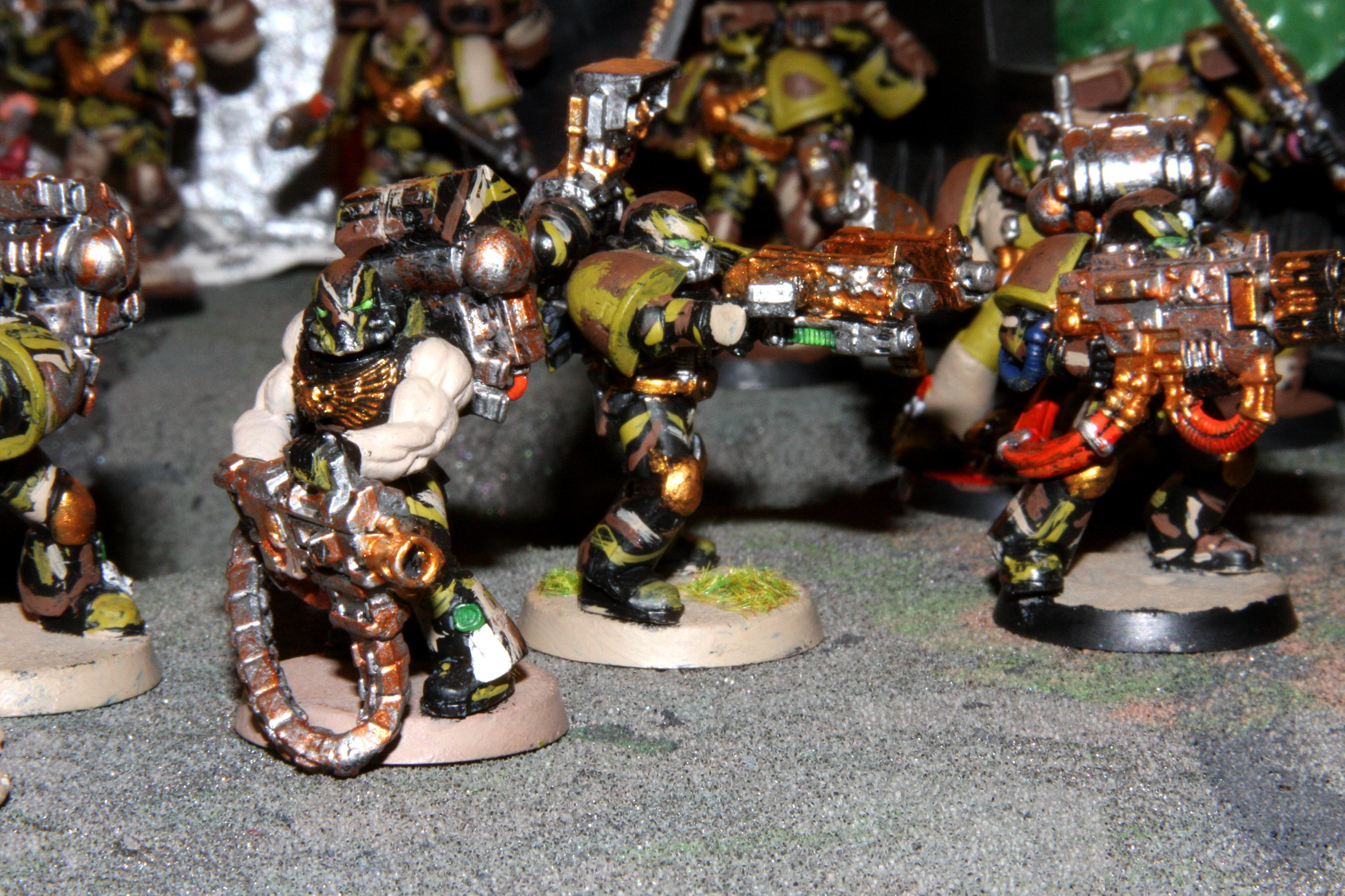 66th, Camo Marines, Space Marines