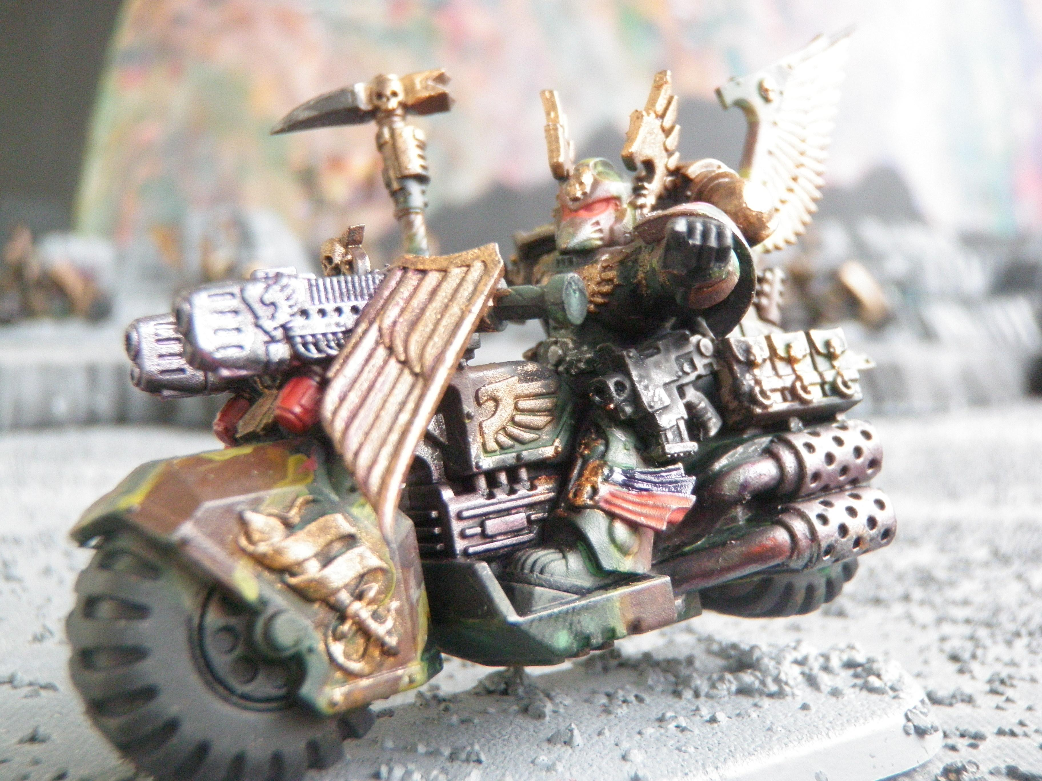 Black Knight, Camouflage, Dark Angels, Ravenwing Command Squad