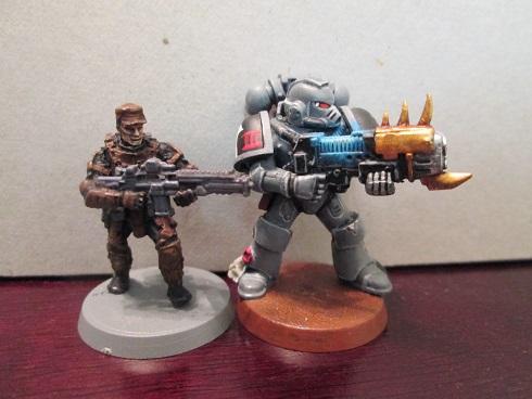 Defiance vs. Space Marine