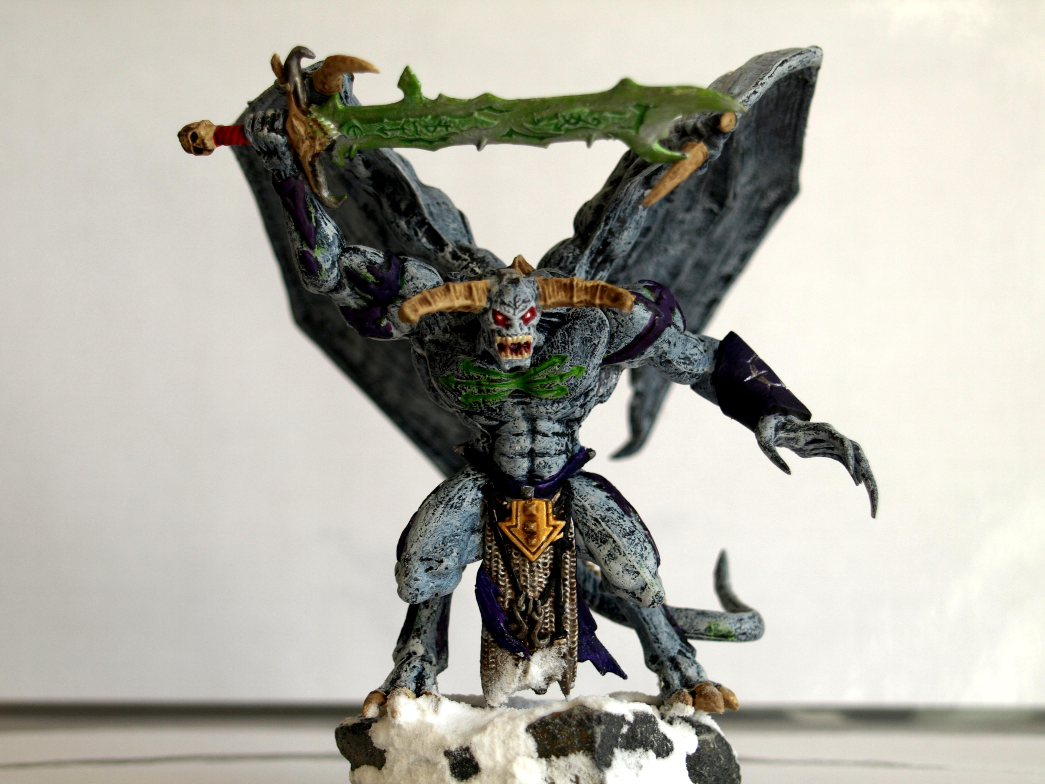 Daemon Prince, Escape Miniatures, Warhammer Fantasy
