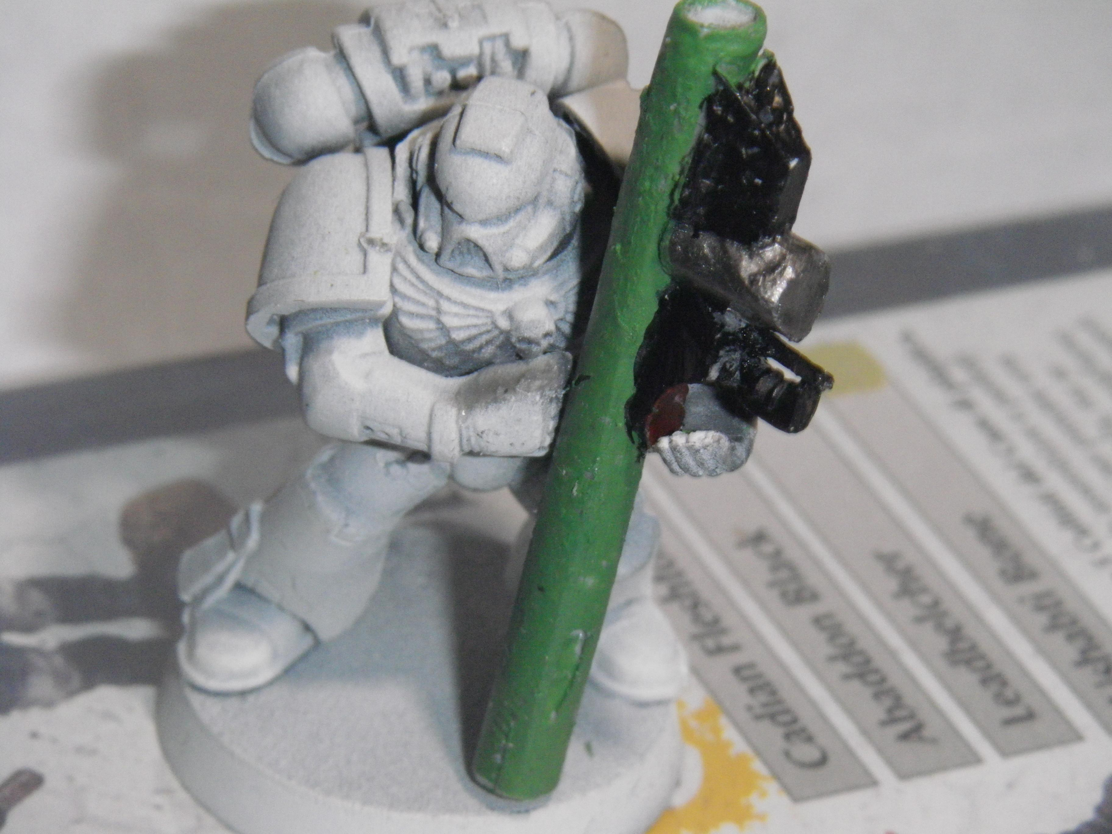 Height of weapon to SM...seems a bit right...might add another 4mm to tube