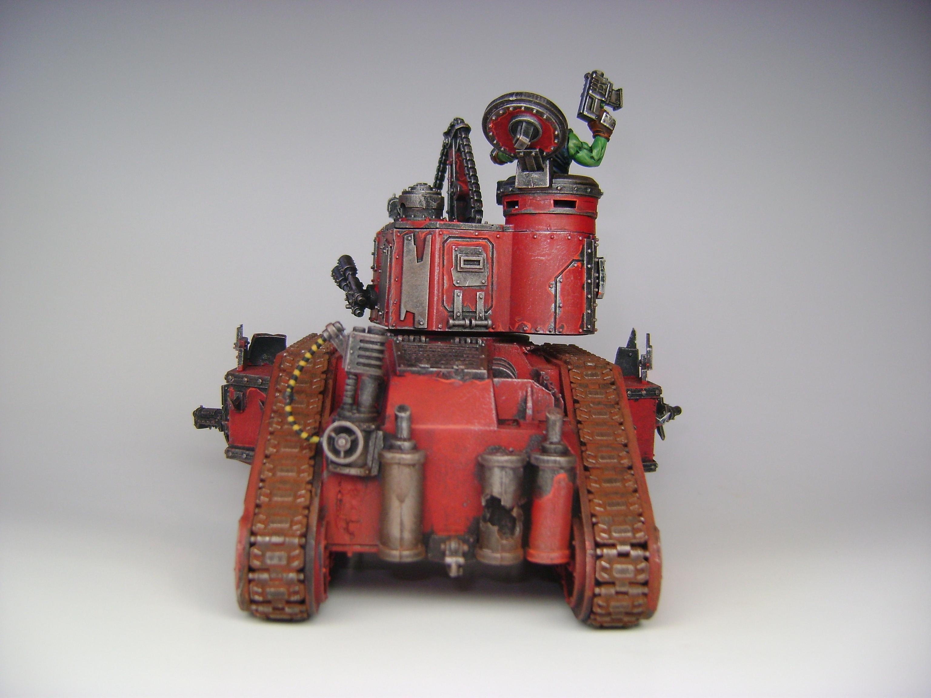 Battlewagon, Boom Gun, Looted Wagon, Orks