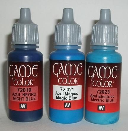 New paints for eldar