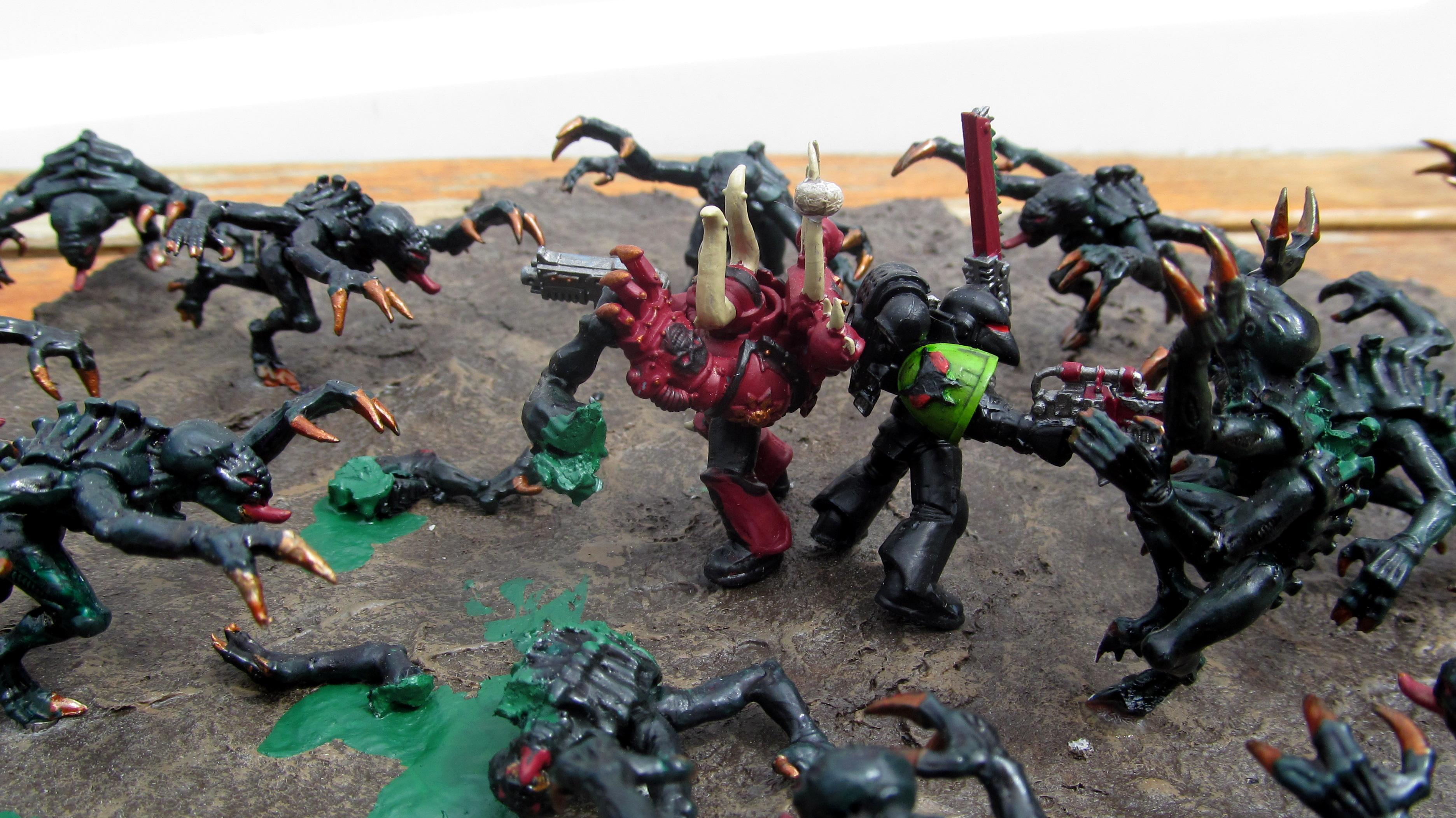 Diorama, Tyranids, Warhammer 40,000