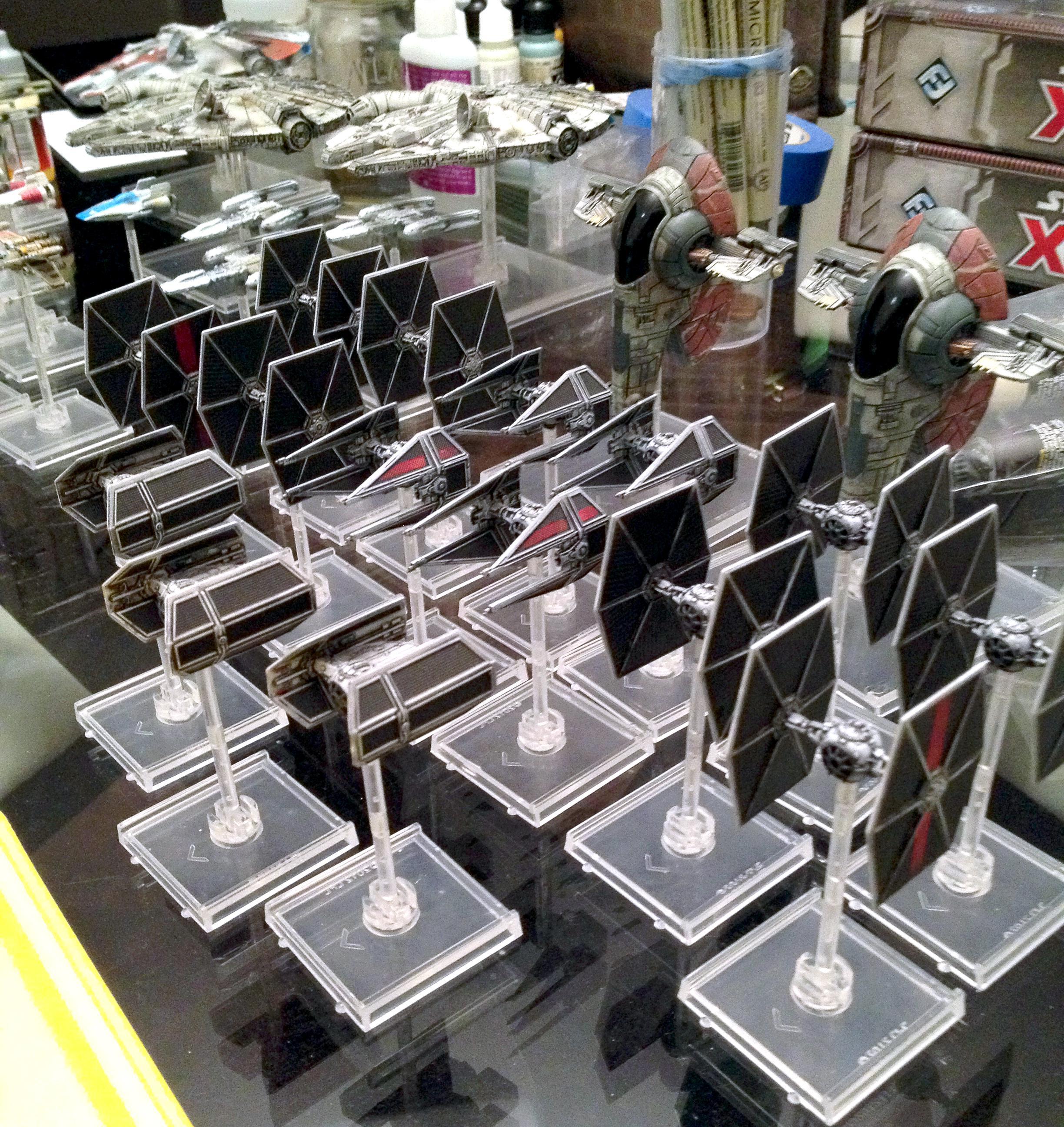 Custom, Fantasy Flight, Miniatures Game, X-Wing