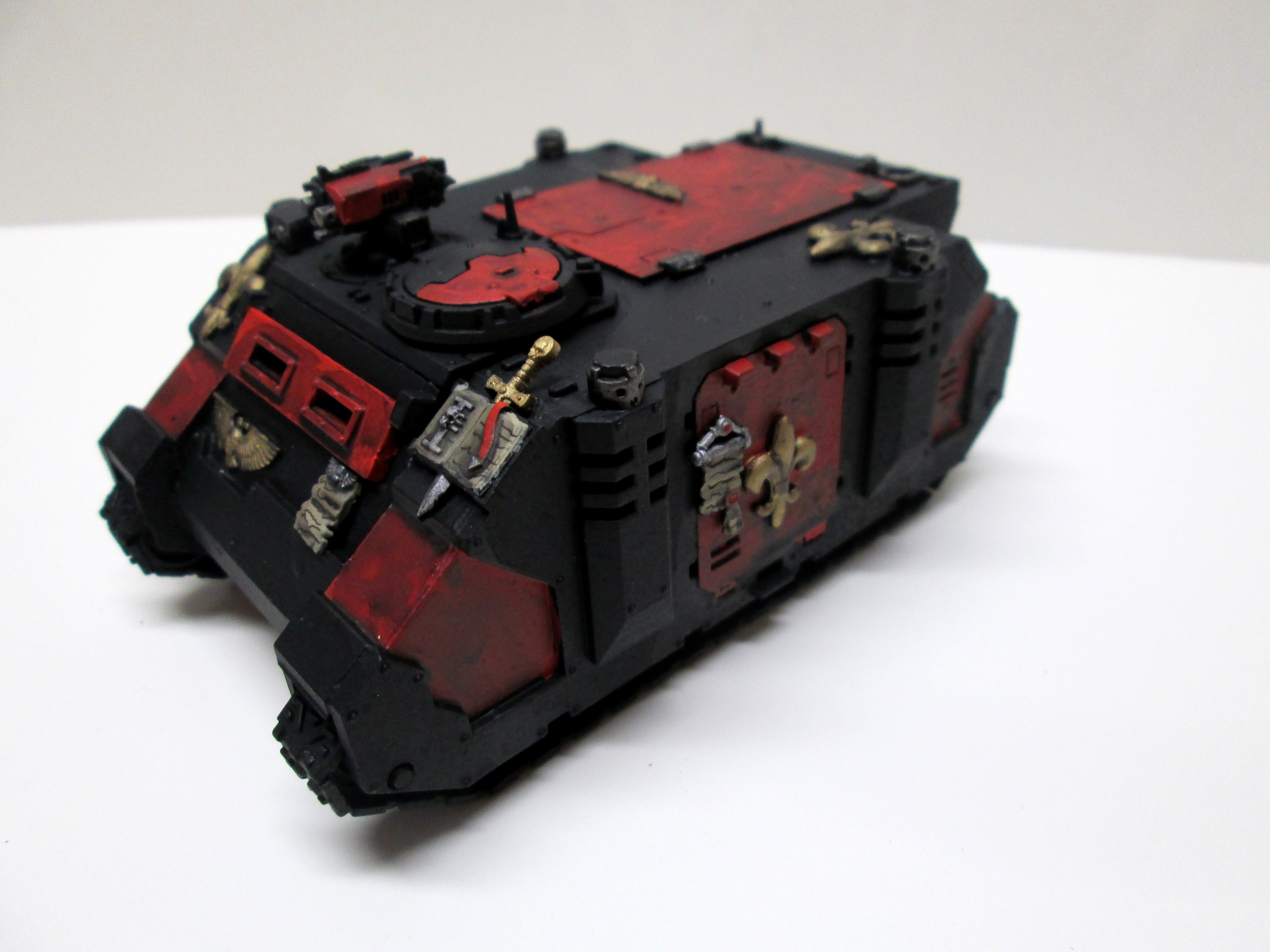 Models, Painted, Rhino, Sisters Of Battle, Warhammer 40,000