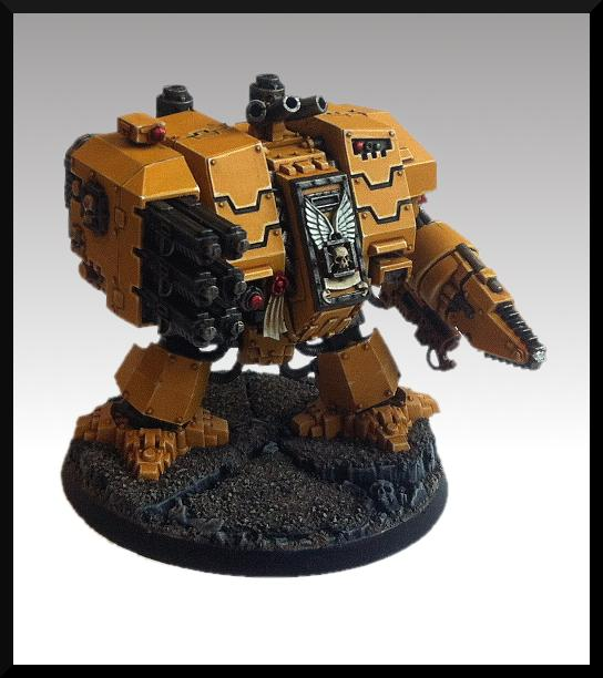 Dreadnought, Imperial Fists, Ironclad, Space Marines