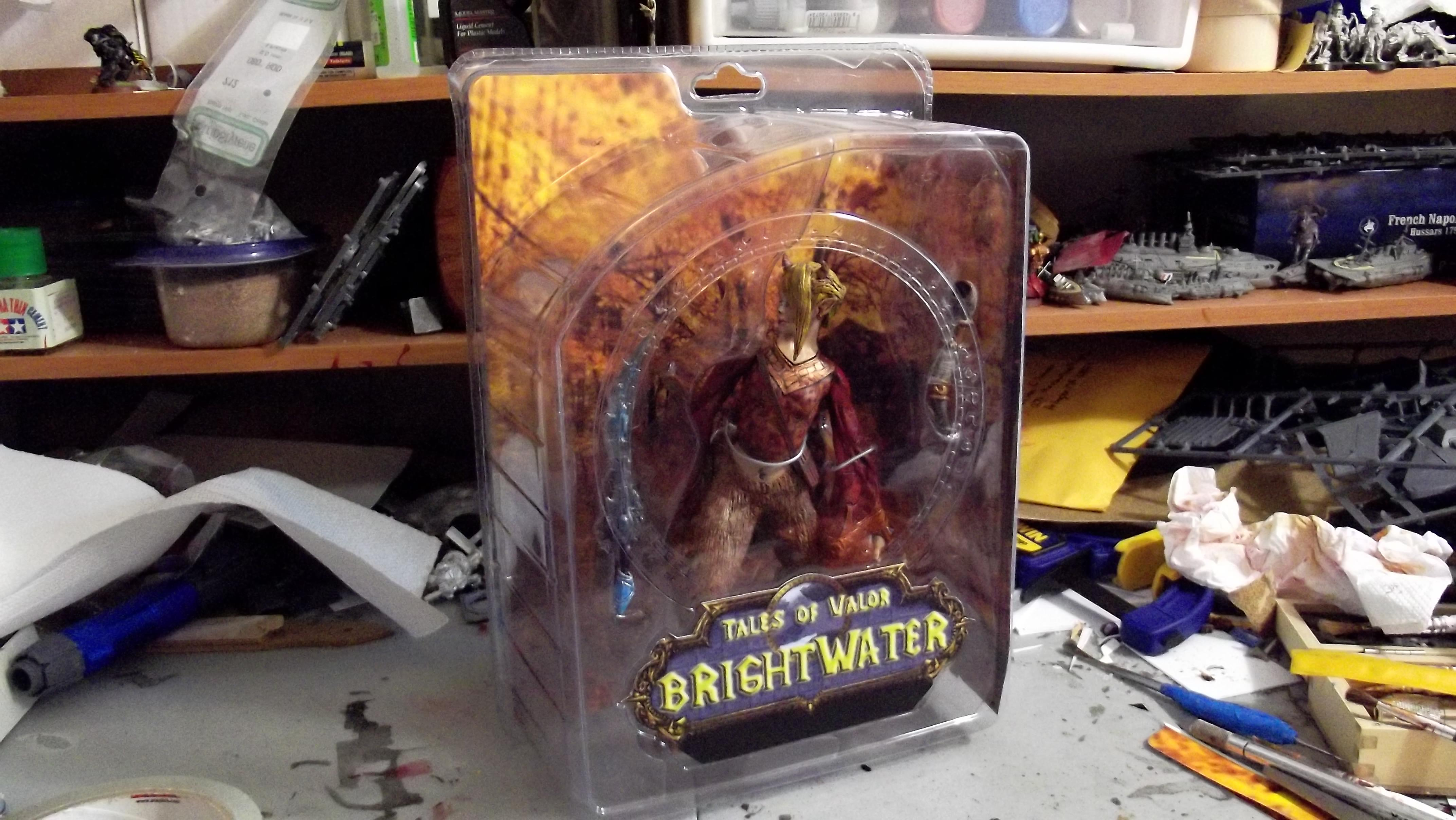 (in)action figure, packaged