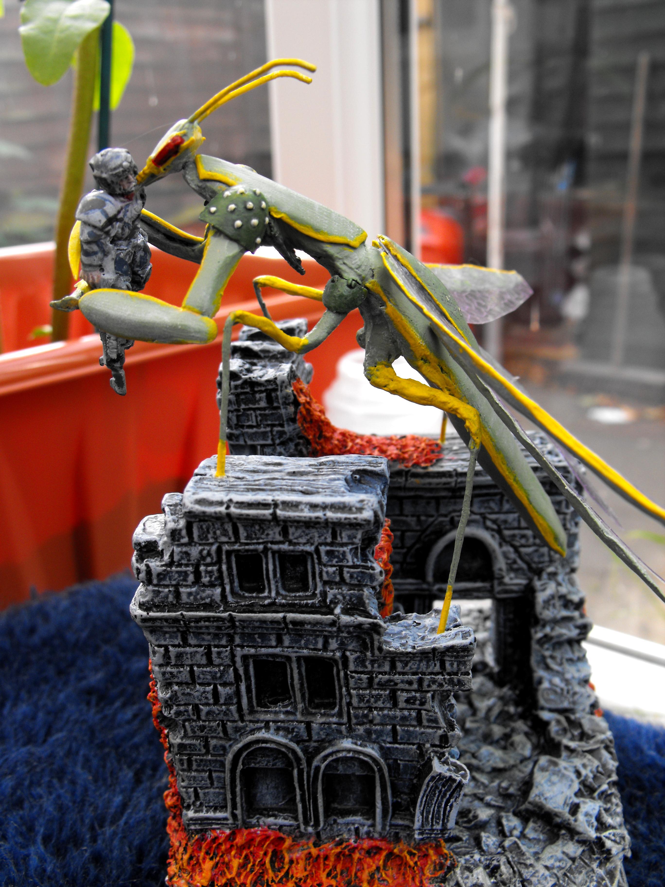 Chaos Space Marines, Daemon Prince, Mantis Maker Challenge, Mantis Prince, Mantis Warriors