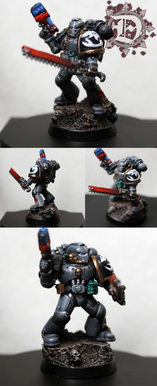 Carcharodon, Hobby, Mini, Miniature, Spacemarine, Warhammer 40,000