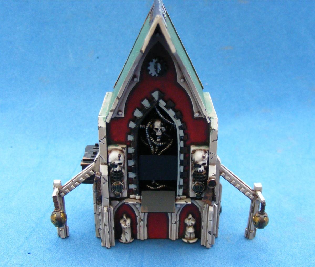 Mechanicus, Shrine, Terrain, Wharammer 40k