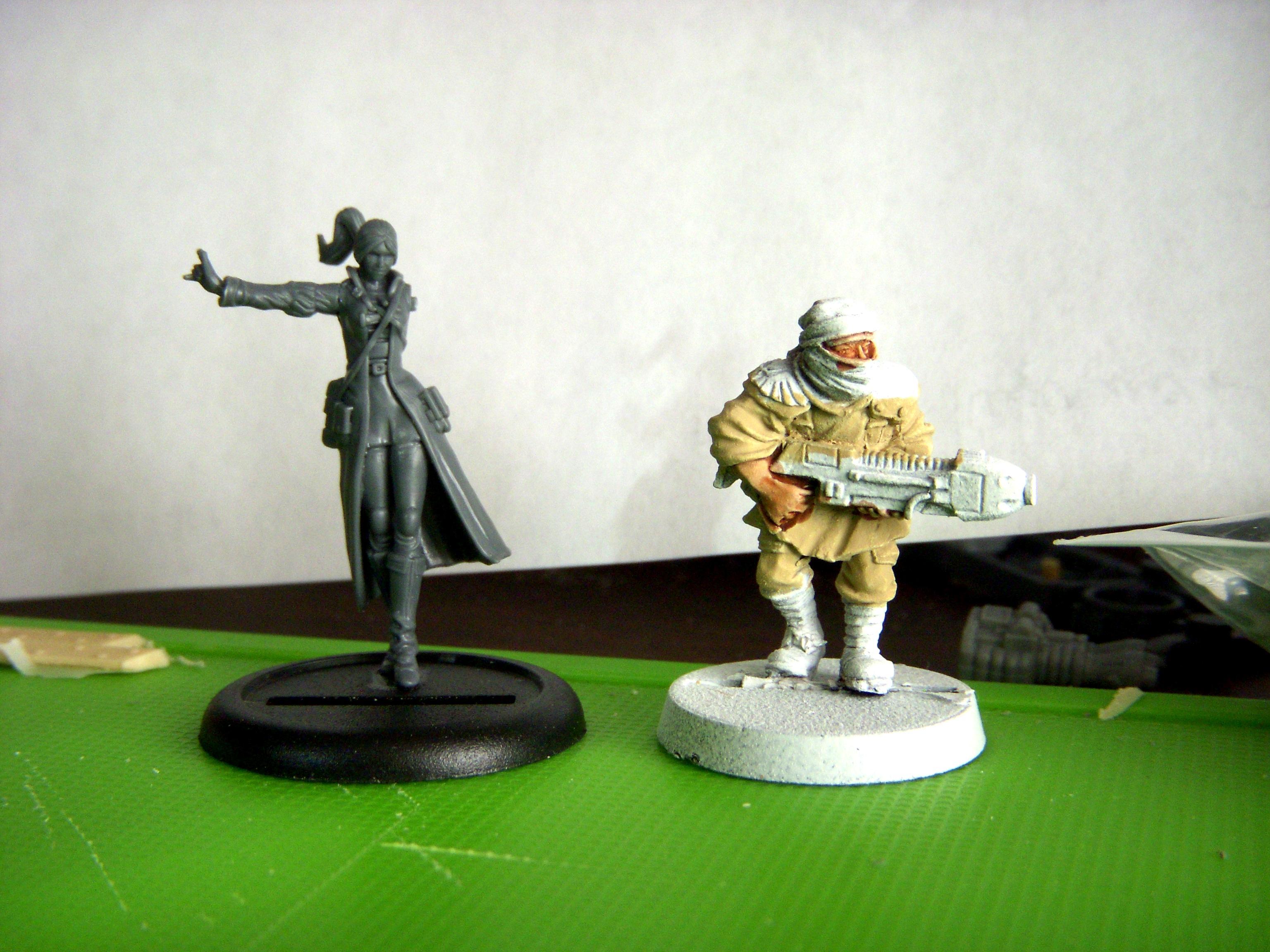 Vanessa vs Tallarn Trooper